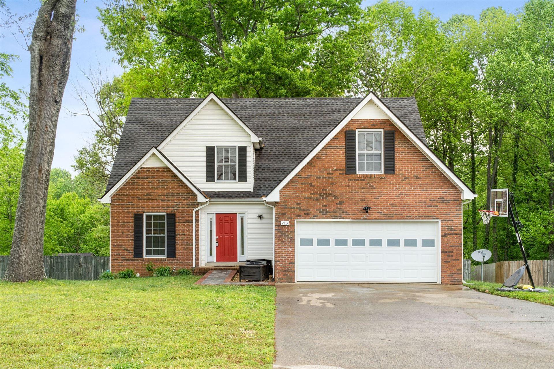 2413 Shoveler Way, Clarksville, TN 37042 - MLS#: 2249128