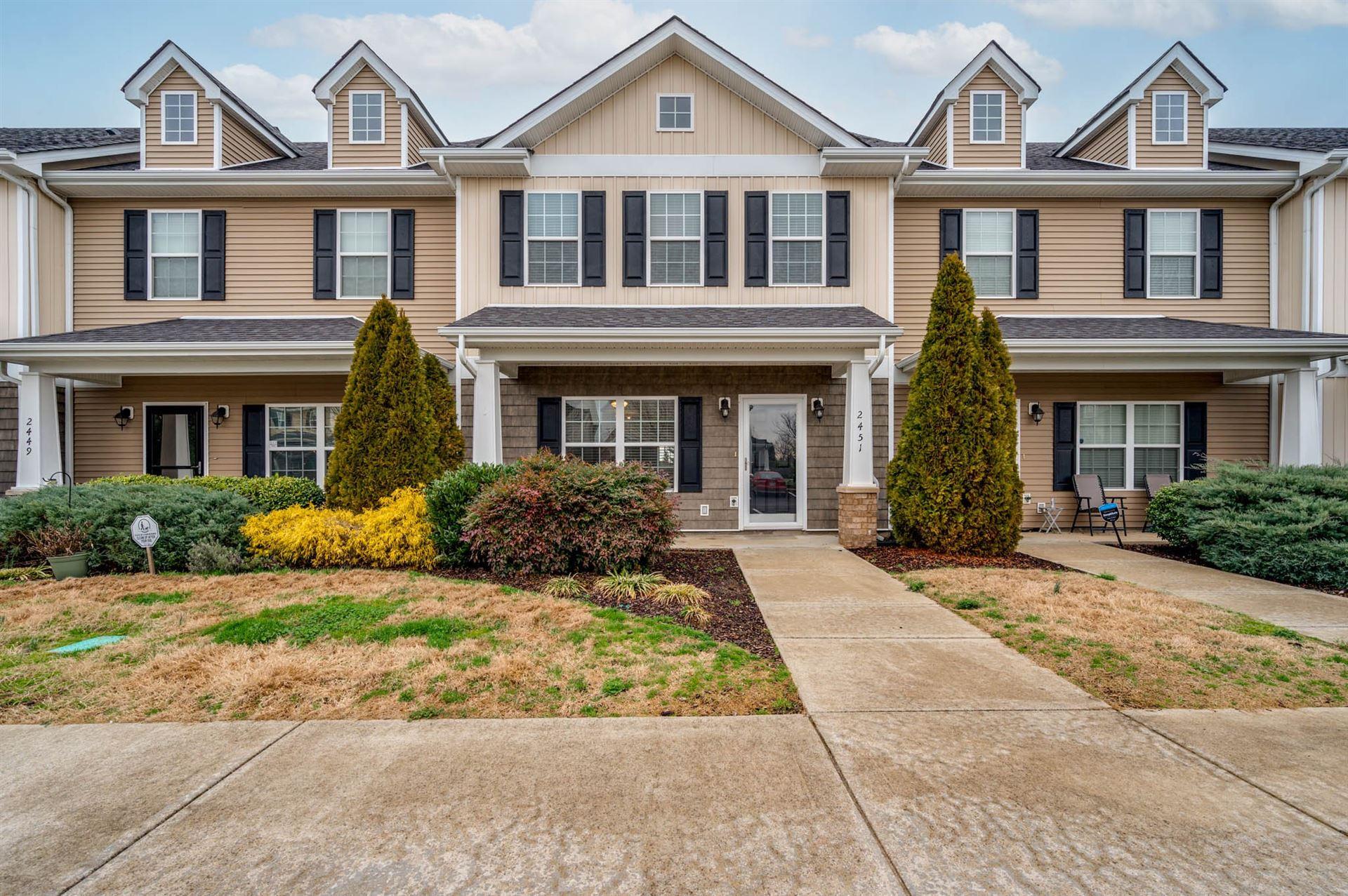 2451 New Holland Circle #29, Murfreesboro, TN 37128 - MLS#: 2233144