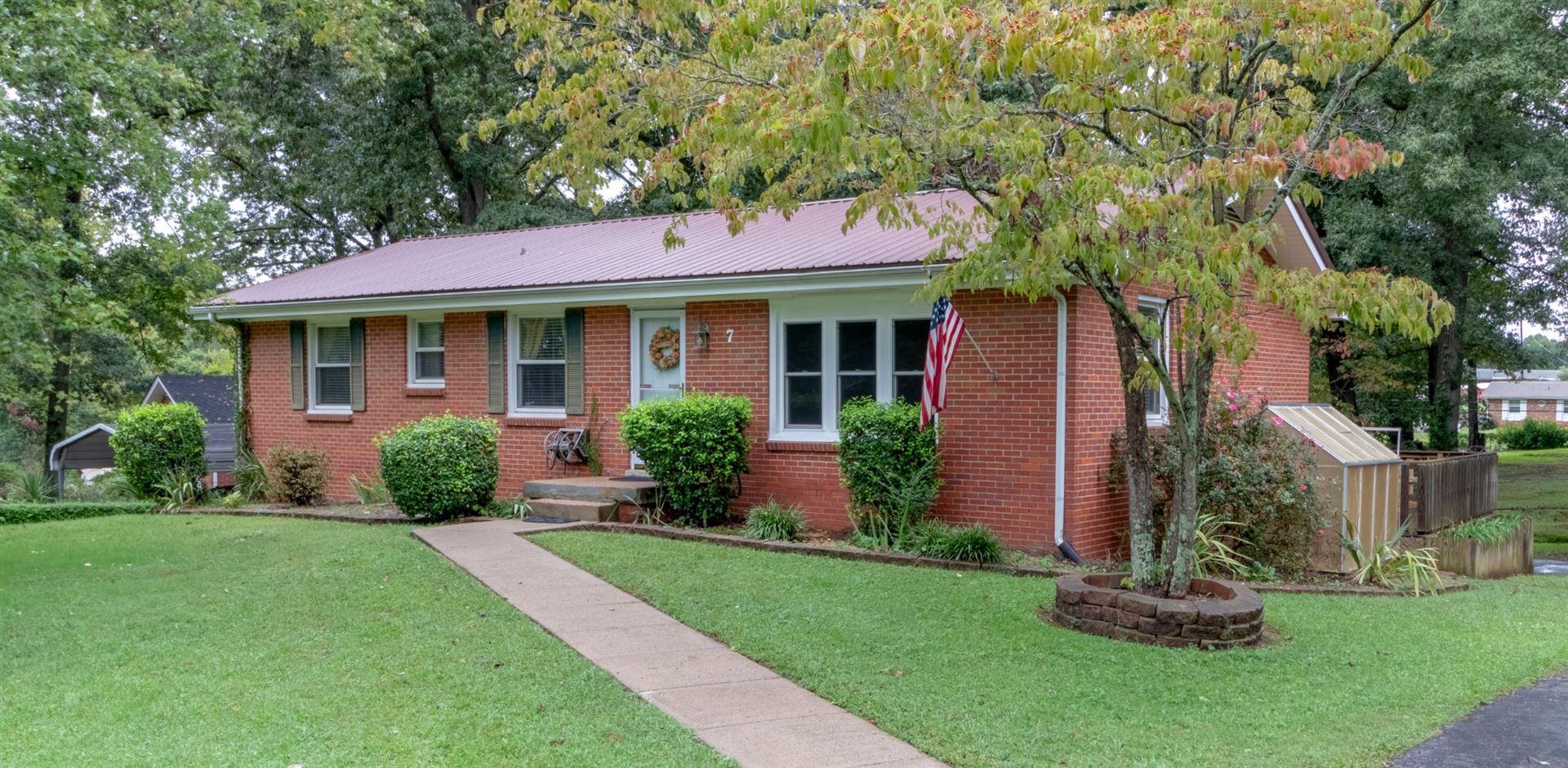 7 Brandywine Dr, Clarksville, TN 37042 - MLS#: 2293150