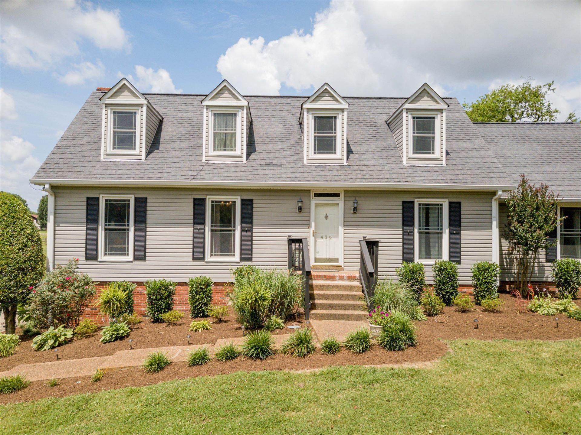 439 Jones Lane, Hendersonville, TN 37075 - MLS#: 2158165