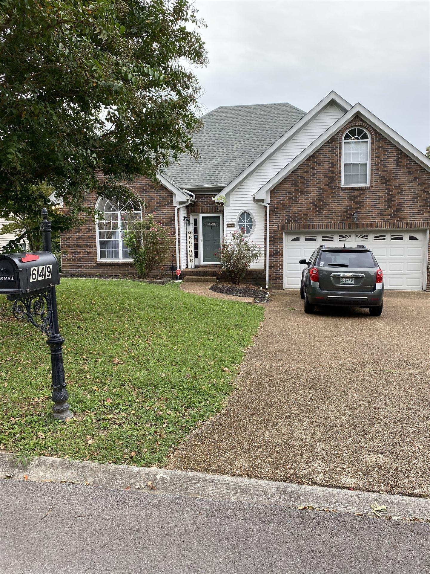 649 Granwood Blvd, Old Hickory, TN 37138 - MLS#: 2192168