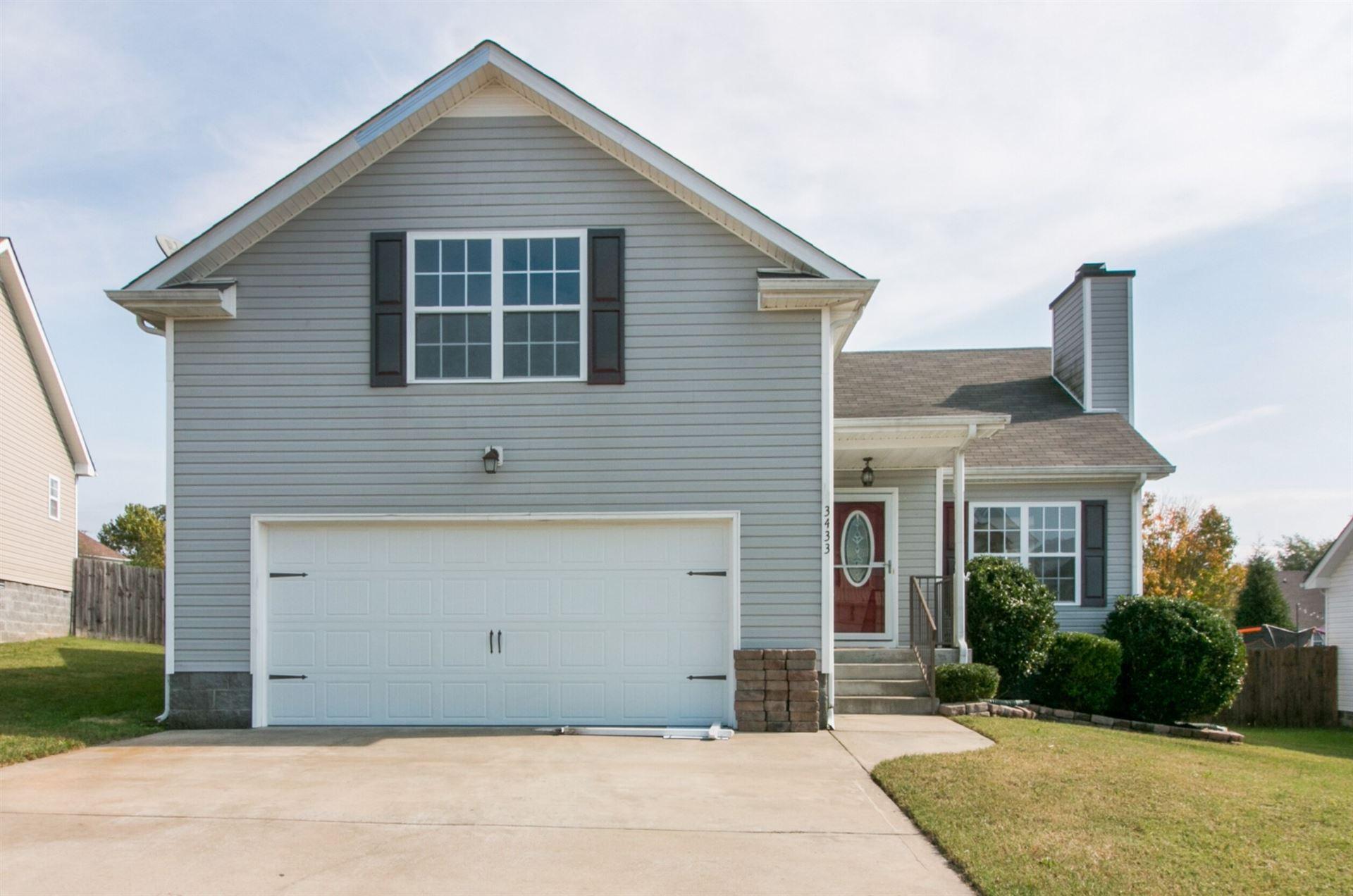 3433 Oconnor Ln, Clarksville, TN 37042 - MLS#: 2201185