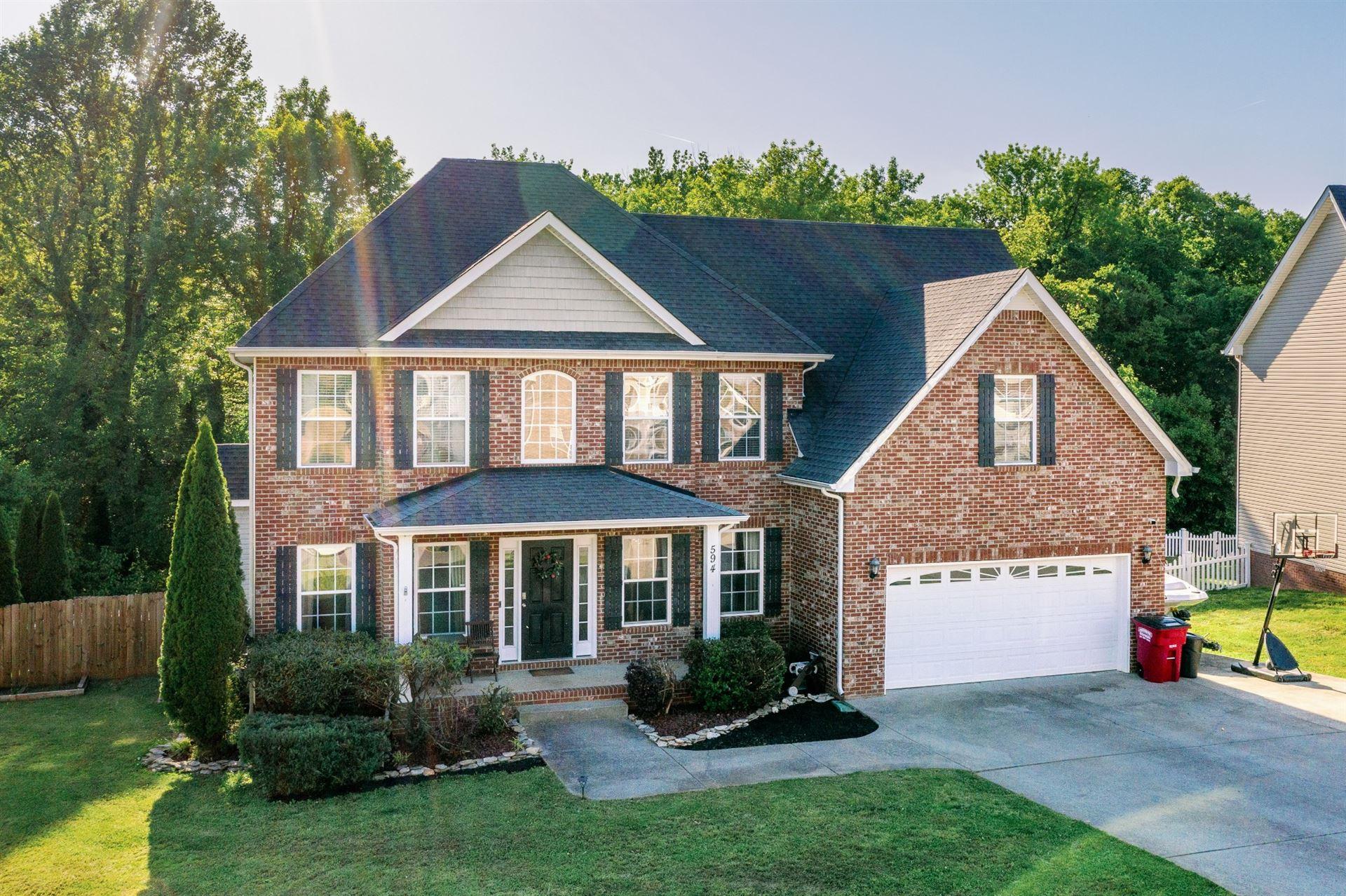 594 Winding Bluff Way, Clarksville, TN 37040 - MLS#: 2250186