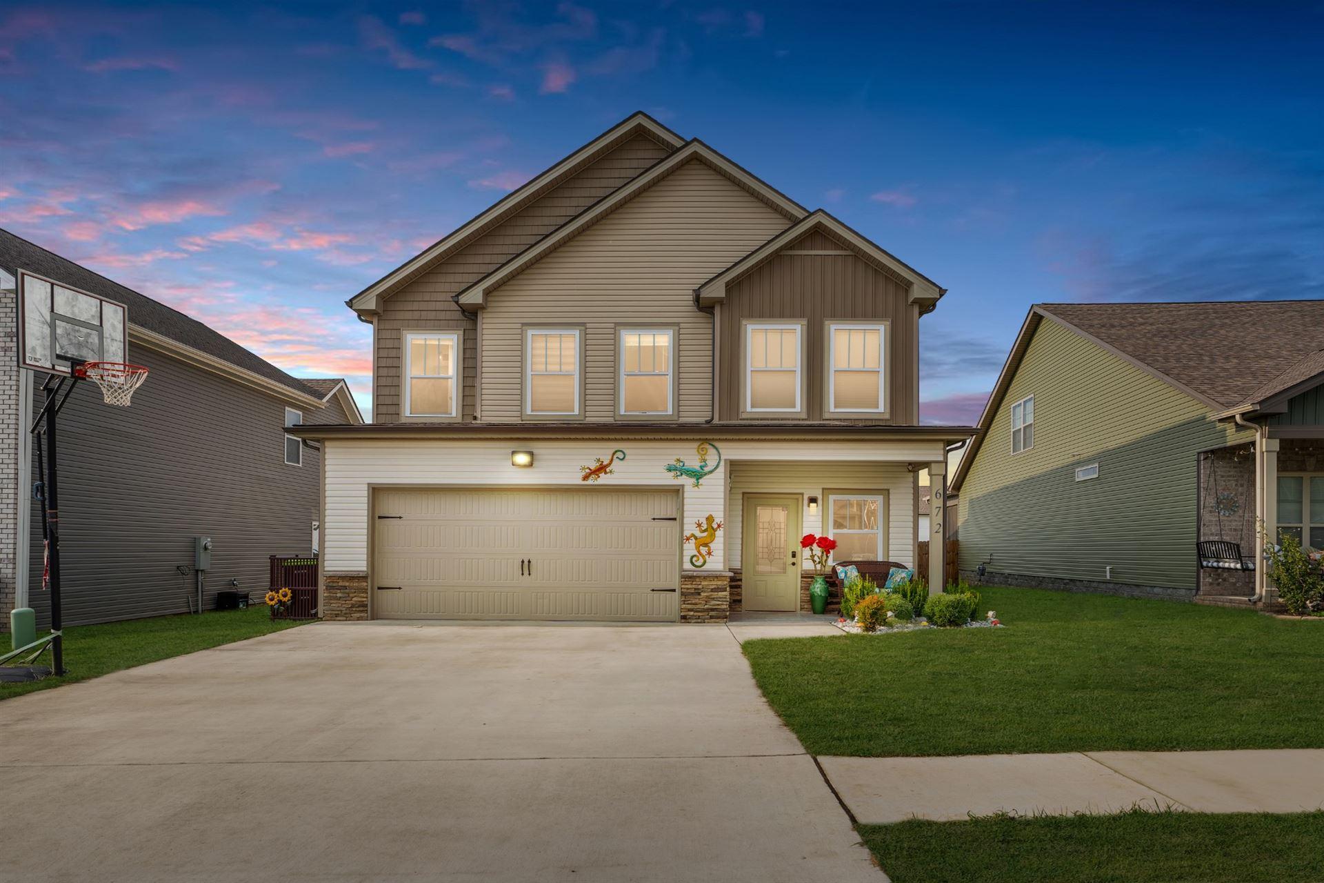 672 Elm St, Clarksville, TN 37040 - MLS#: 2289202