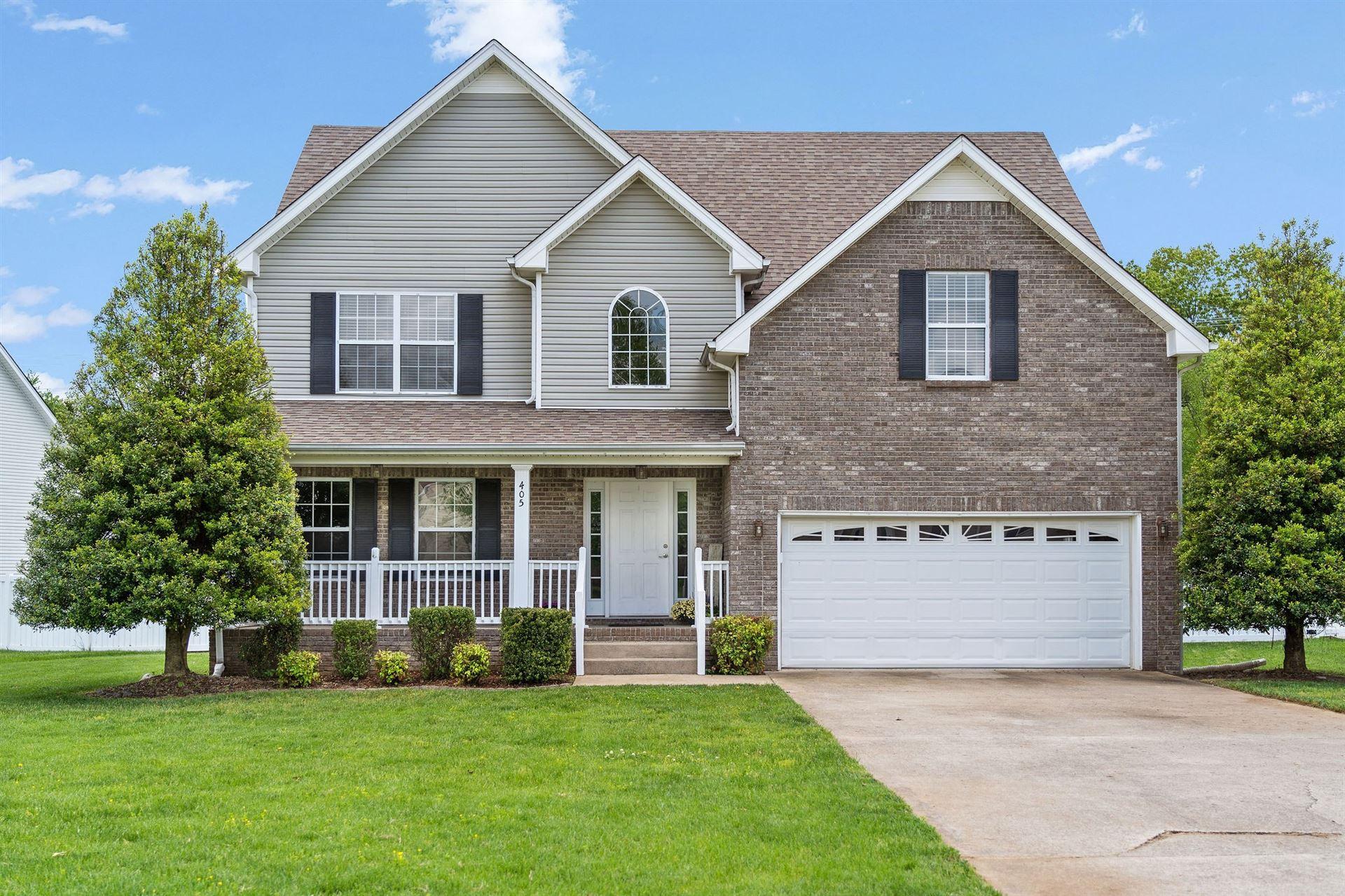 405 Short Bluff Dr, Clarksville, TN 37040 - MLS#: 2245210