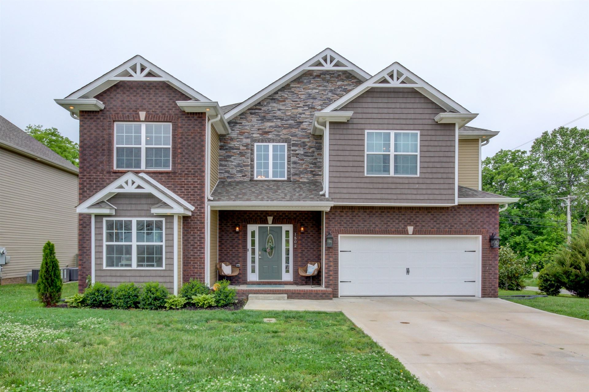 1502 Red Rock Ct, Clarksville, TN 37043 - MLS#: 2253212