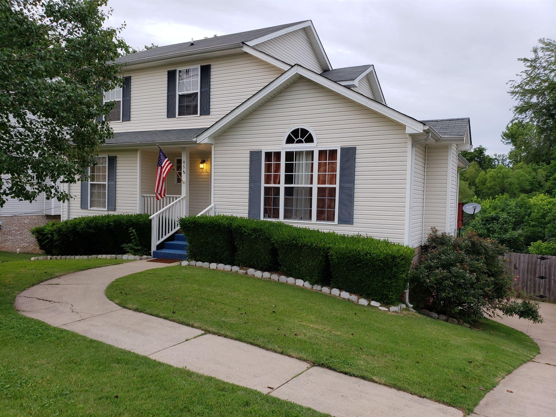 958 Hedge Apple Dr, Clarksville, TN 37040 - MLS#: 2261263
