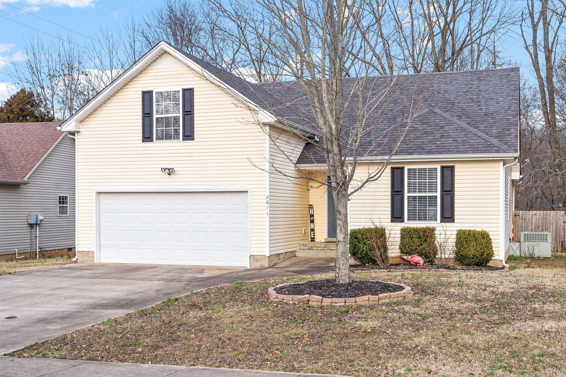 2871 Teakwood Dr, Clarksville, TN 37040 - MLS#: 2233289