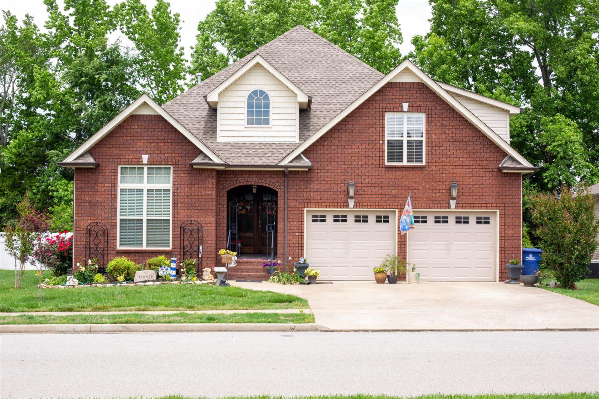 319 Turnberry Cir, Clarksville, TN 37043 - MLS#: 2167308