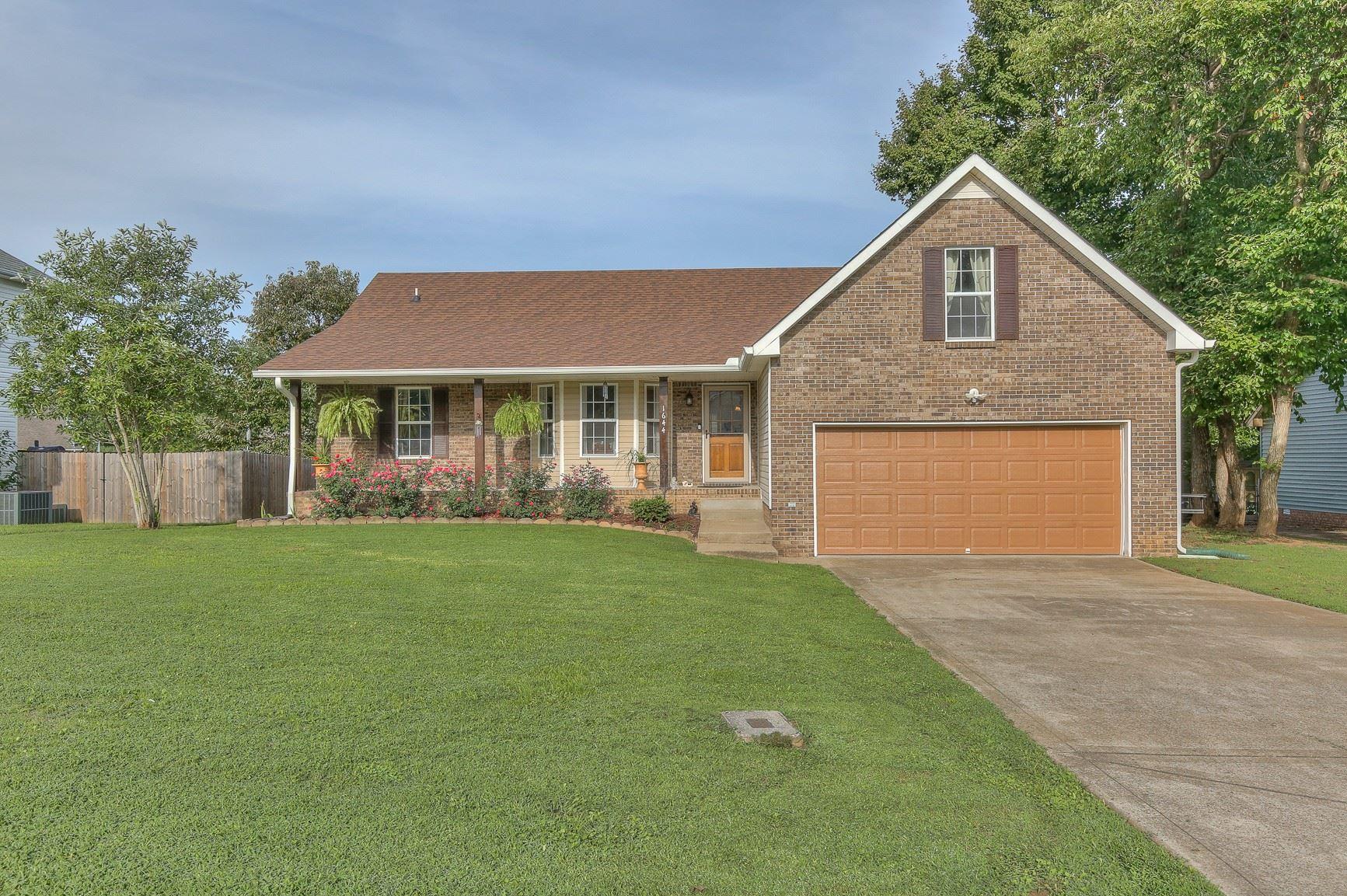 1644 Barrywood Cir E, Clarksville, TN 37042 - MLS#: 2291323