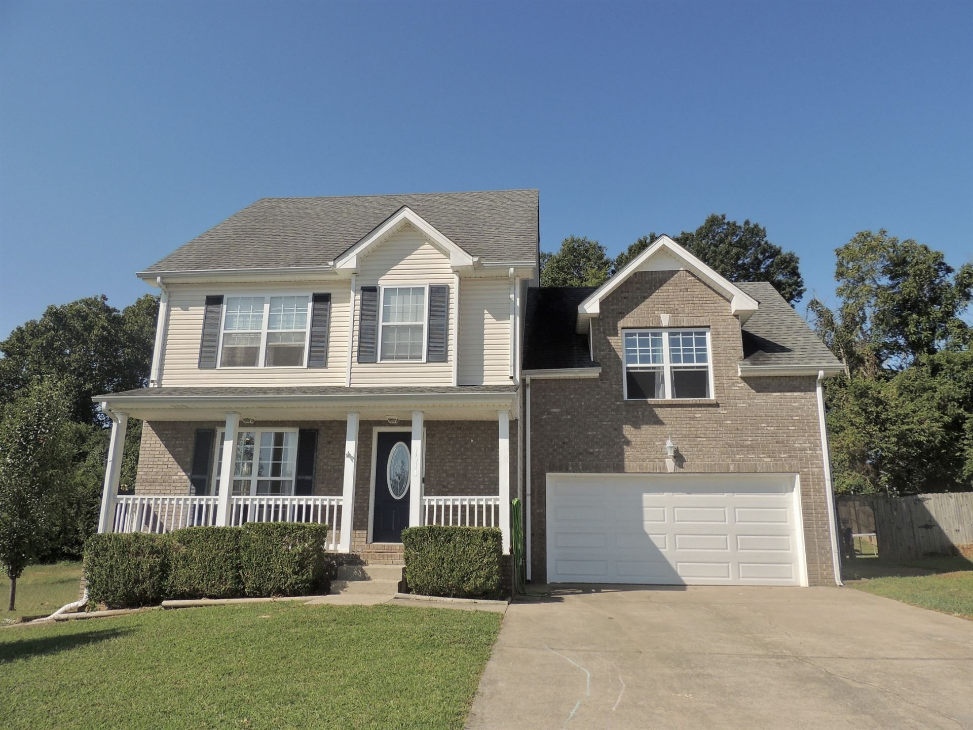 1614 Autumn Dr, Clarksville, TN 37042 - MLS#: 2191324