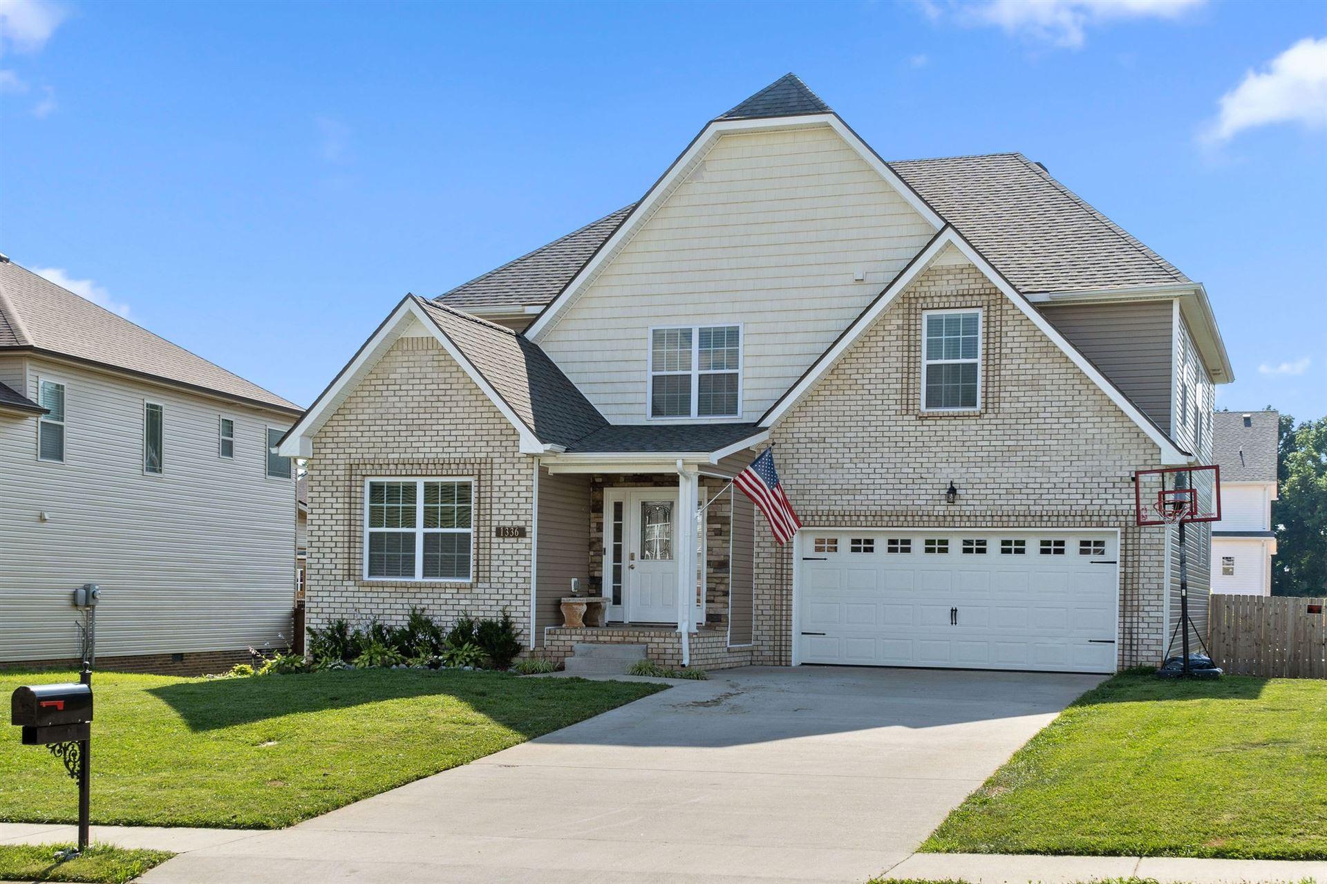 1336 Harmon Ln, Clarksville, TN 37042 - MLS#: 2264338