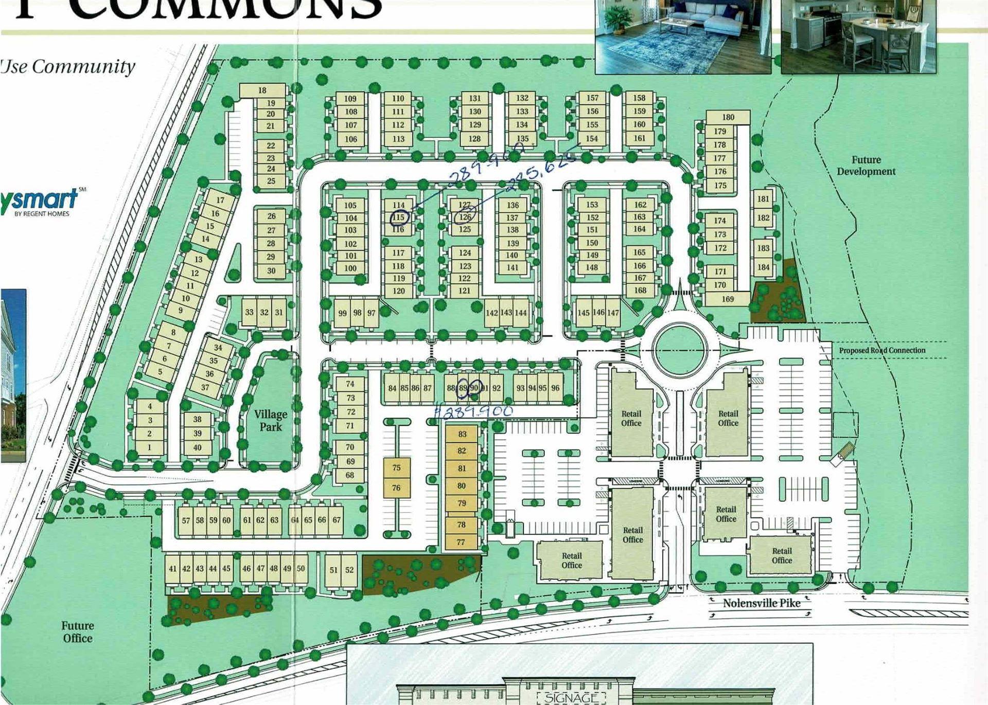 161 Burkitt Commons Ave, Nolensville, TN 37135 - MLS#: 2179343