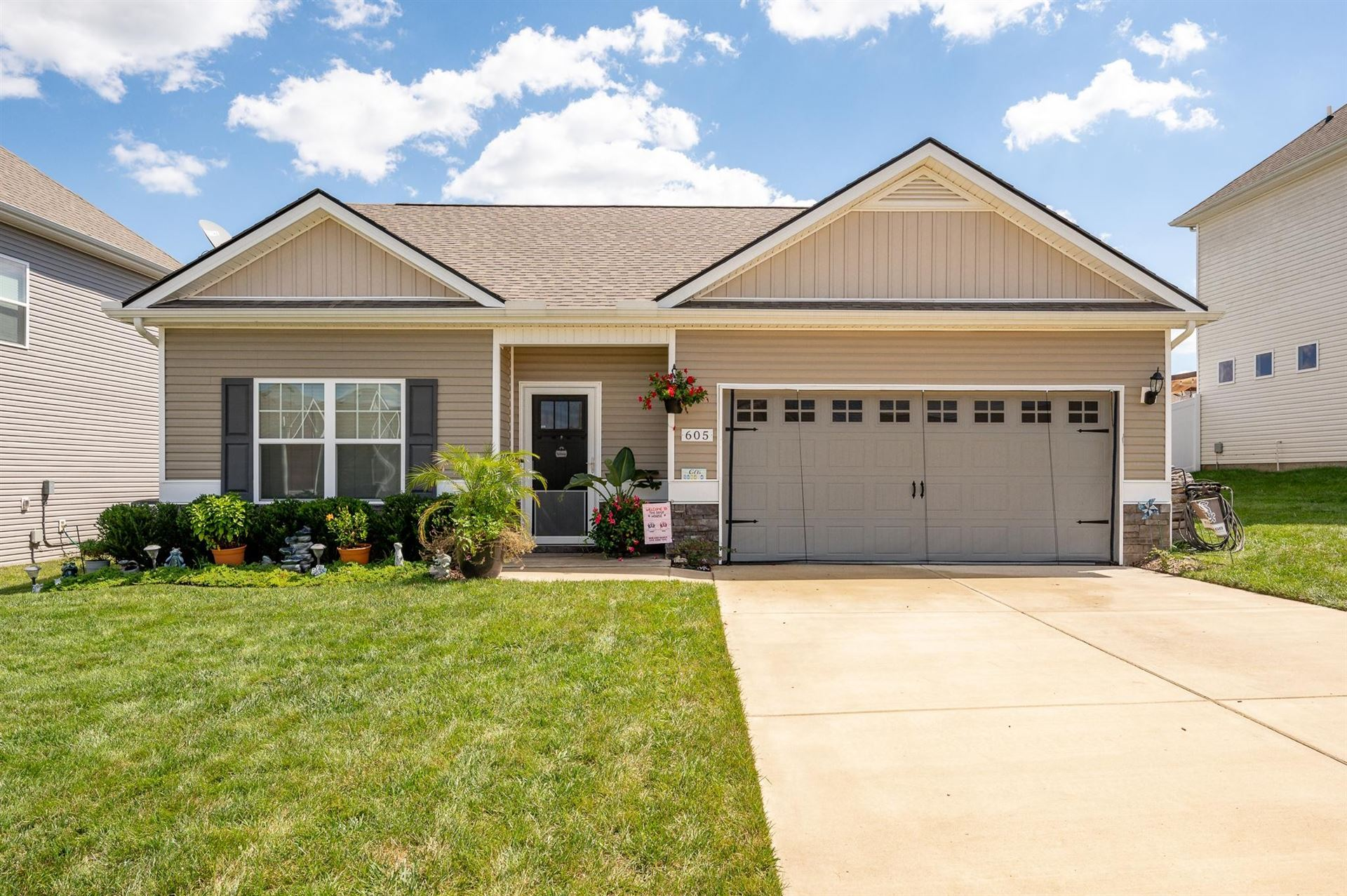 605 Tines Dr, Shelbyville, TN 37160 - MLS#: 2302344