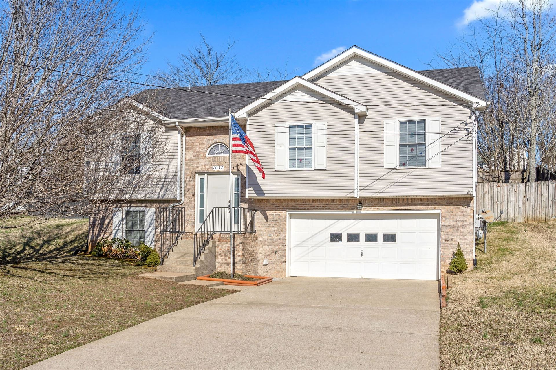 1037 Persimmon Ct, Clarksville, TN 37040 - MLS#: 2233371