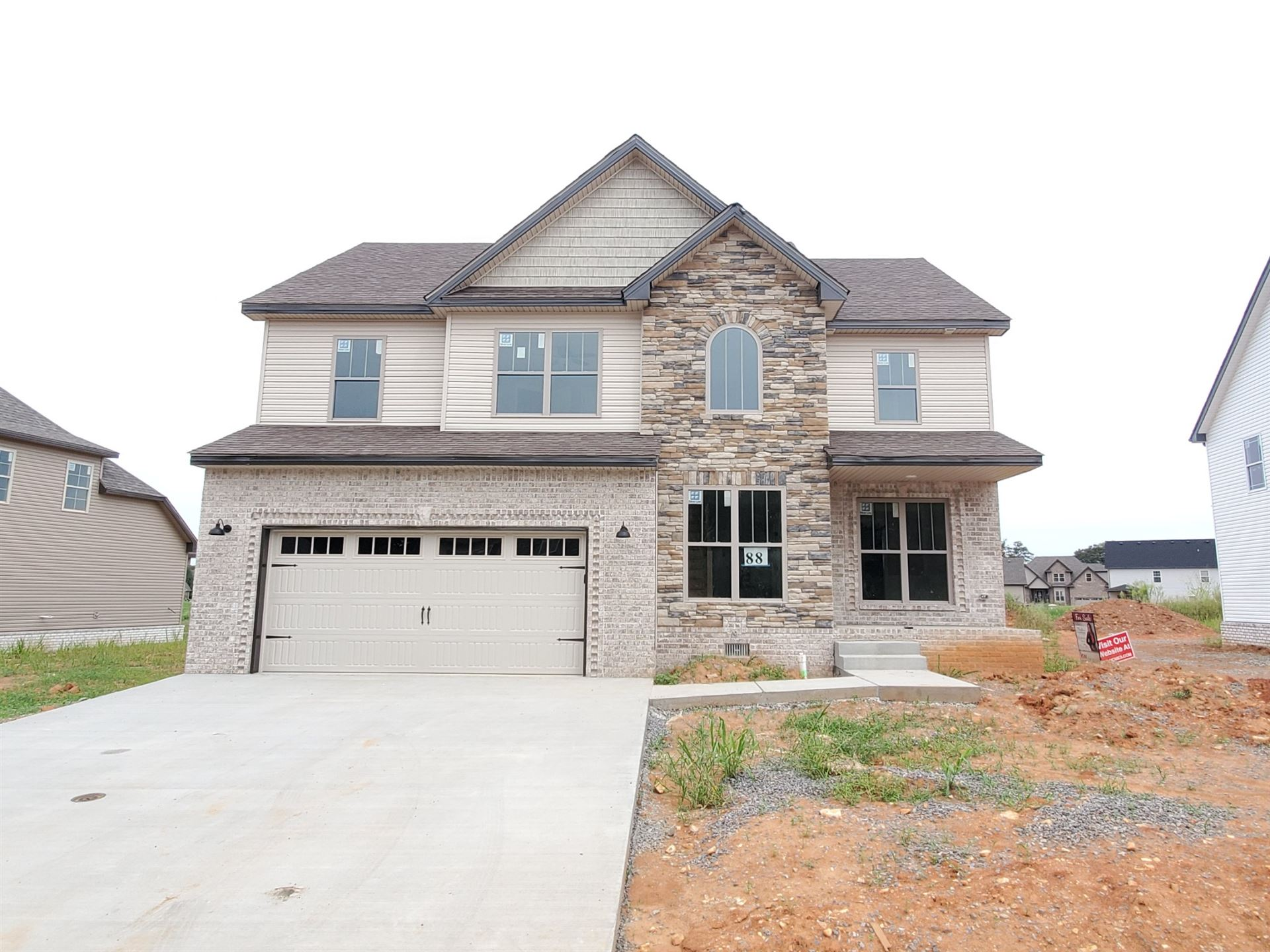 88 Reserve at Hickory Wild, Clarksville, TN 37043 - MLS#: 2073373