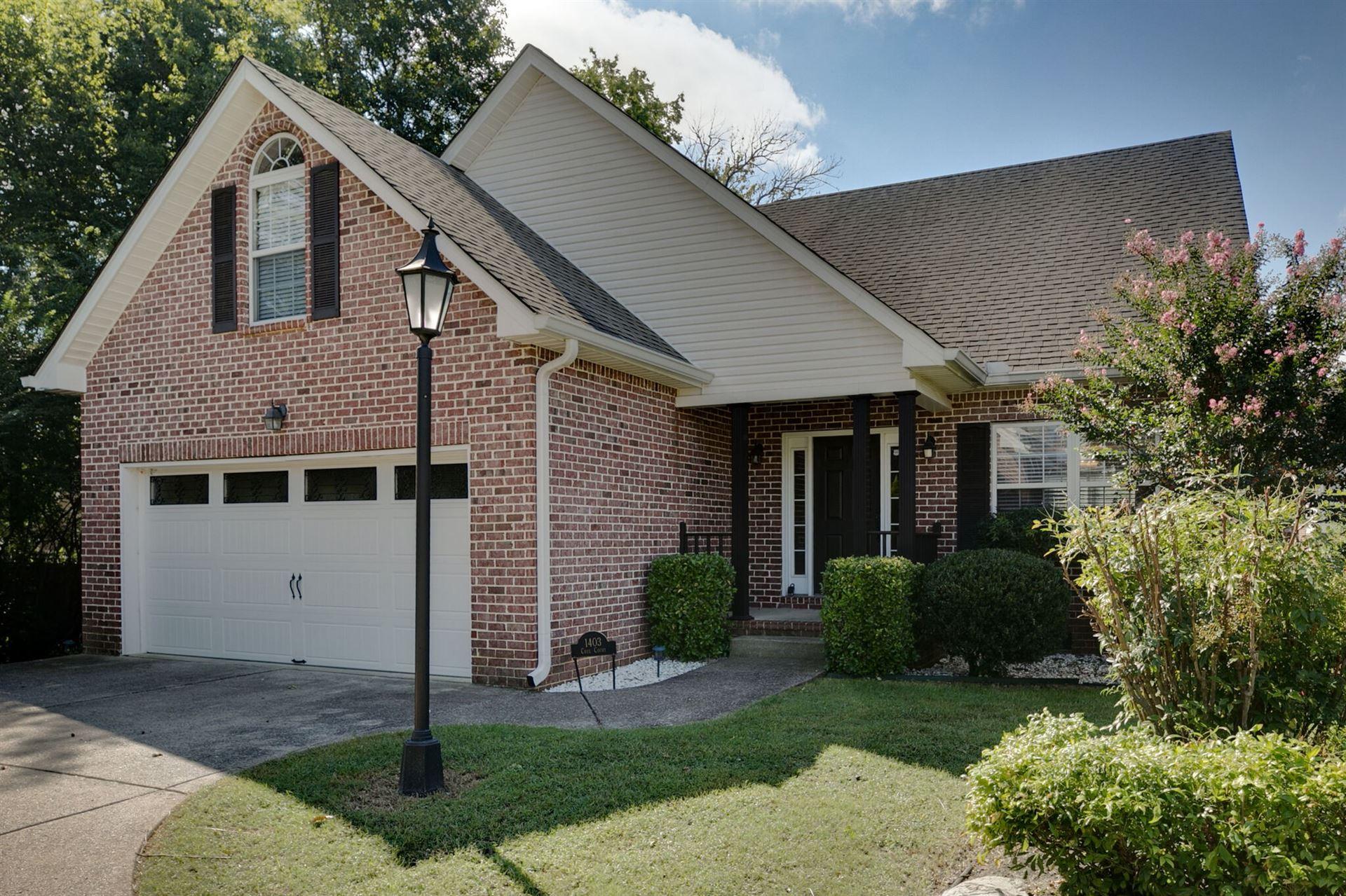 1403 Cree Ct, Murfreesboro, TN 37129 - MLS#: 2293380