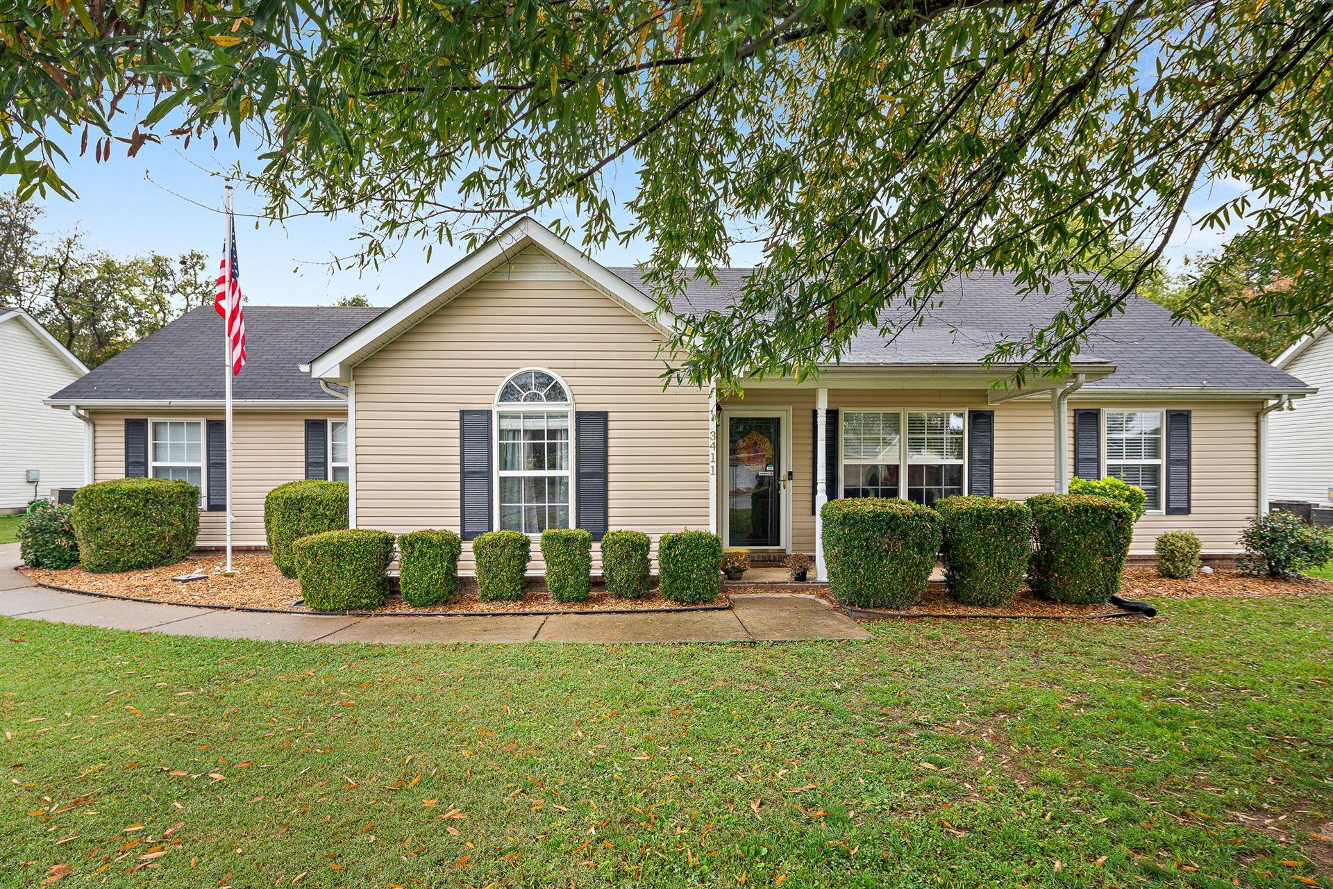 3411 Hardwood Dr, Murfreesboro, TN 37129 - MLS#: 2201381