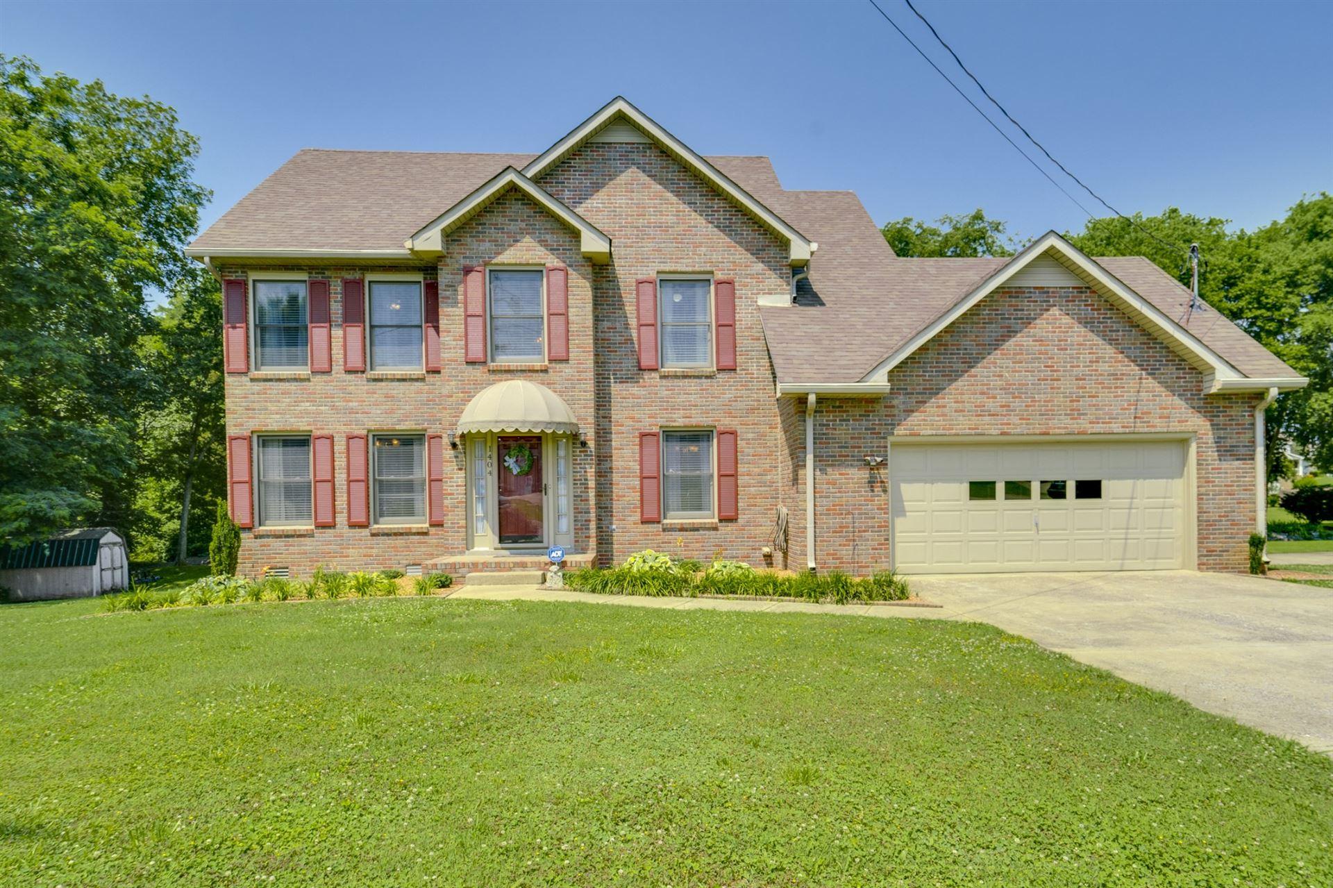 1404 S Callywood Ct, Clarksville, TN 37040 - MLS#: 2264385
