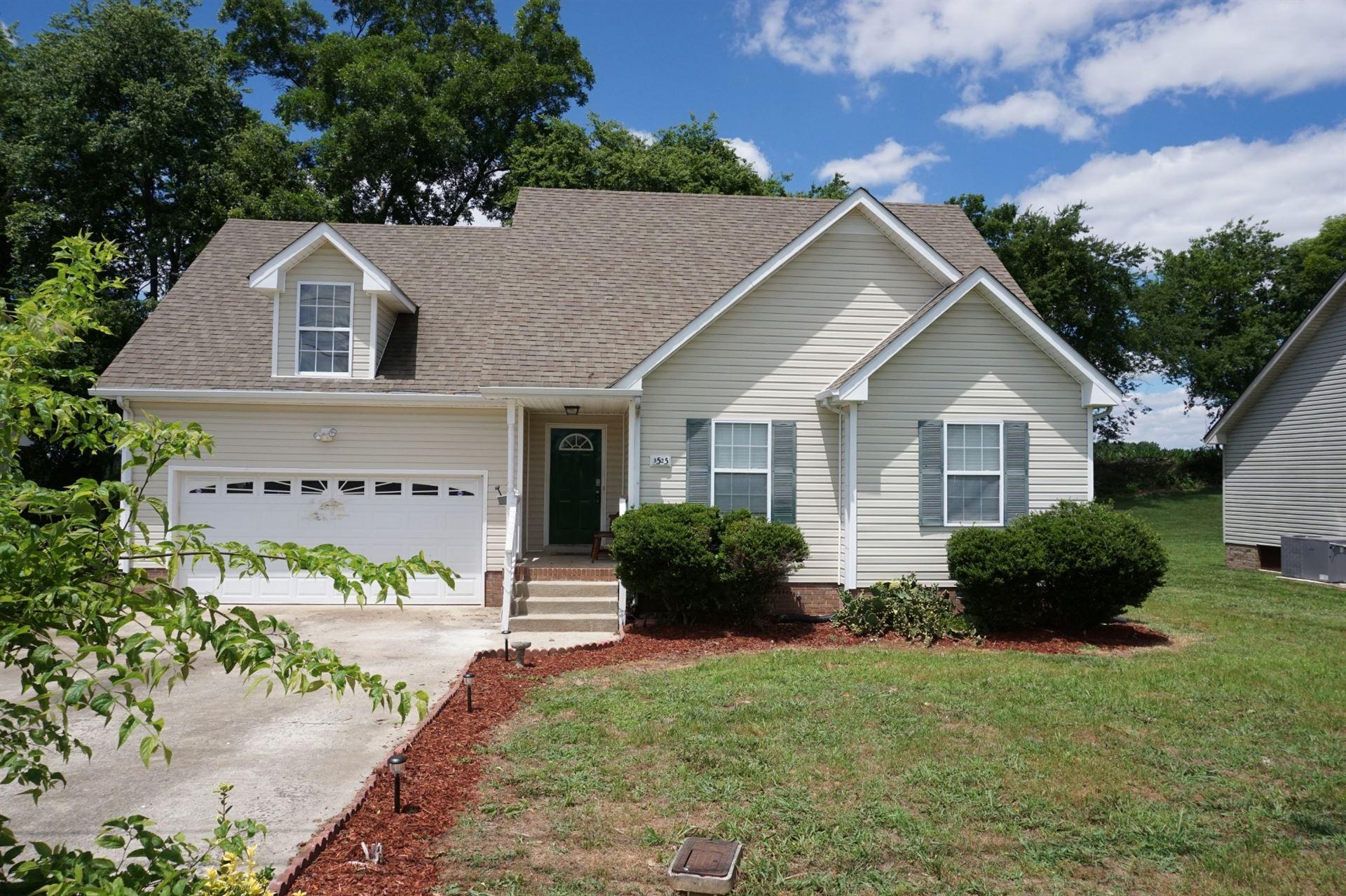 3525 Sandpiper Dr, Clarksville, TN 37042 - MLS#: 2265407