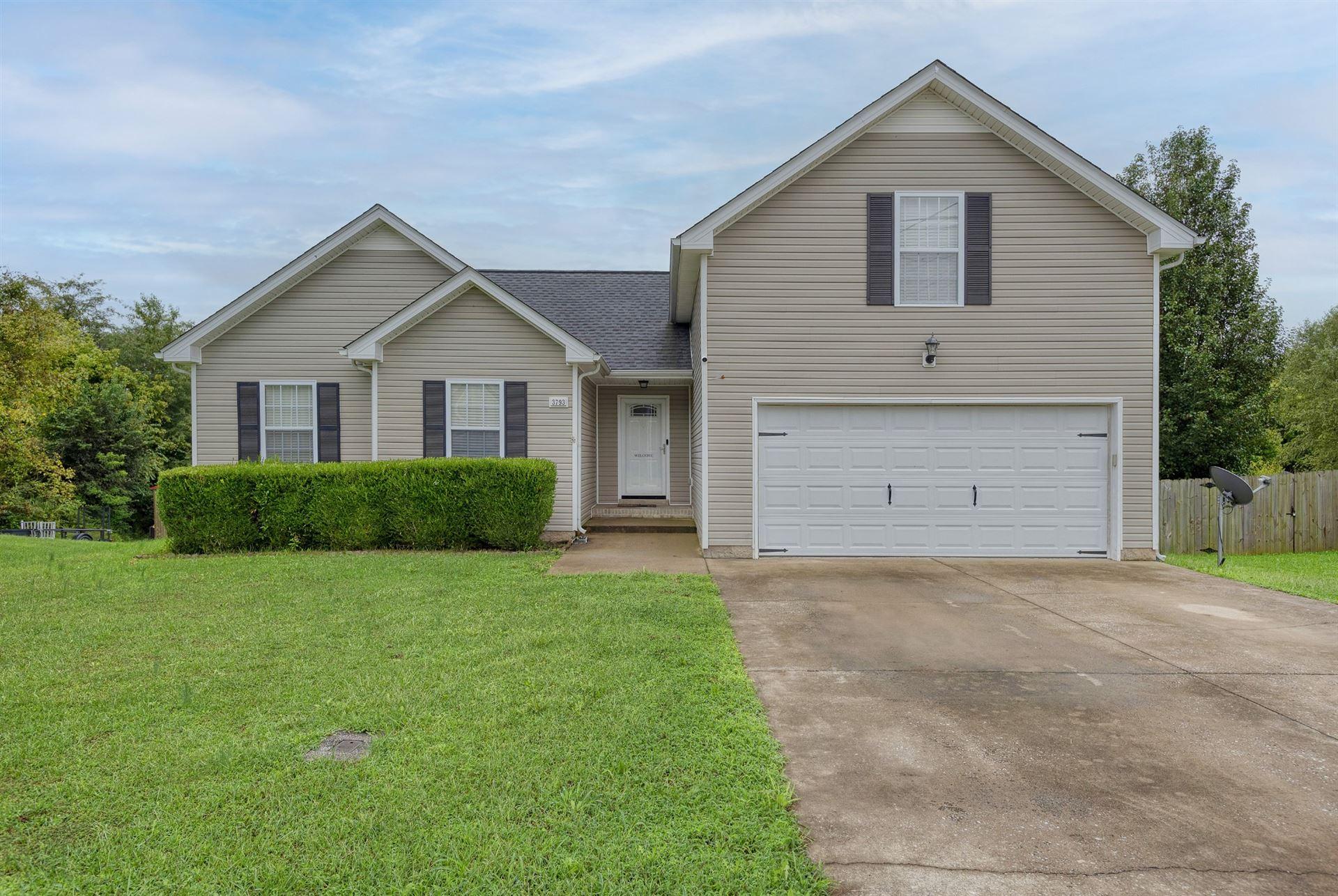 3793 Man O War Blvd, Clarksville, TN 37042 - MLS#: 2293429