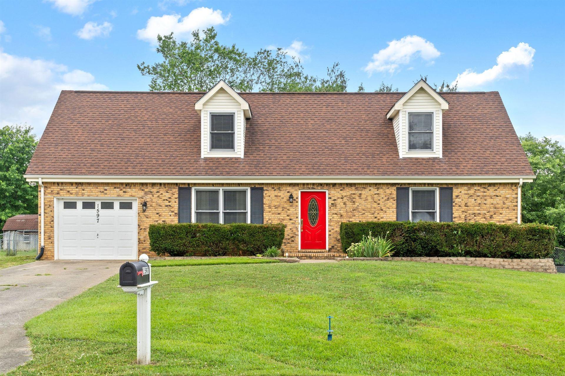 1597 Baynesview Dr, Clarksville, TN 37043 - MLS#: 2265451