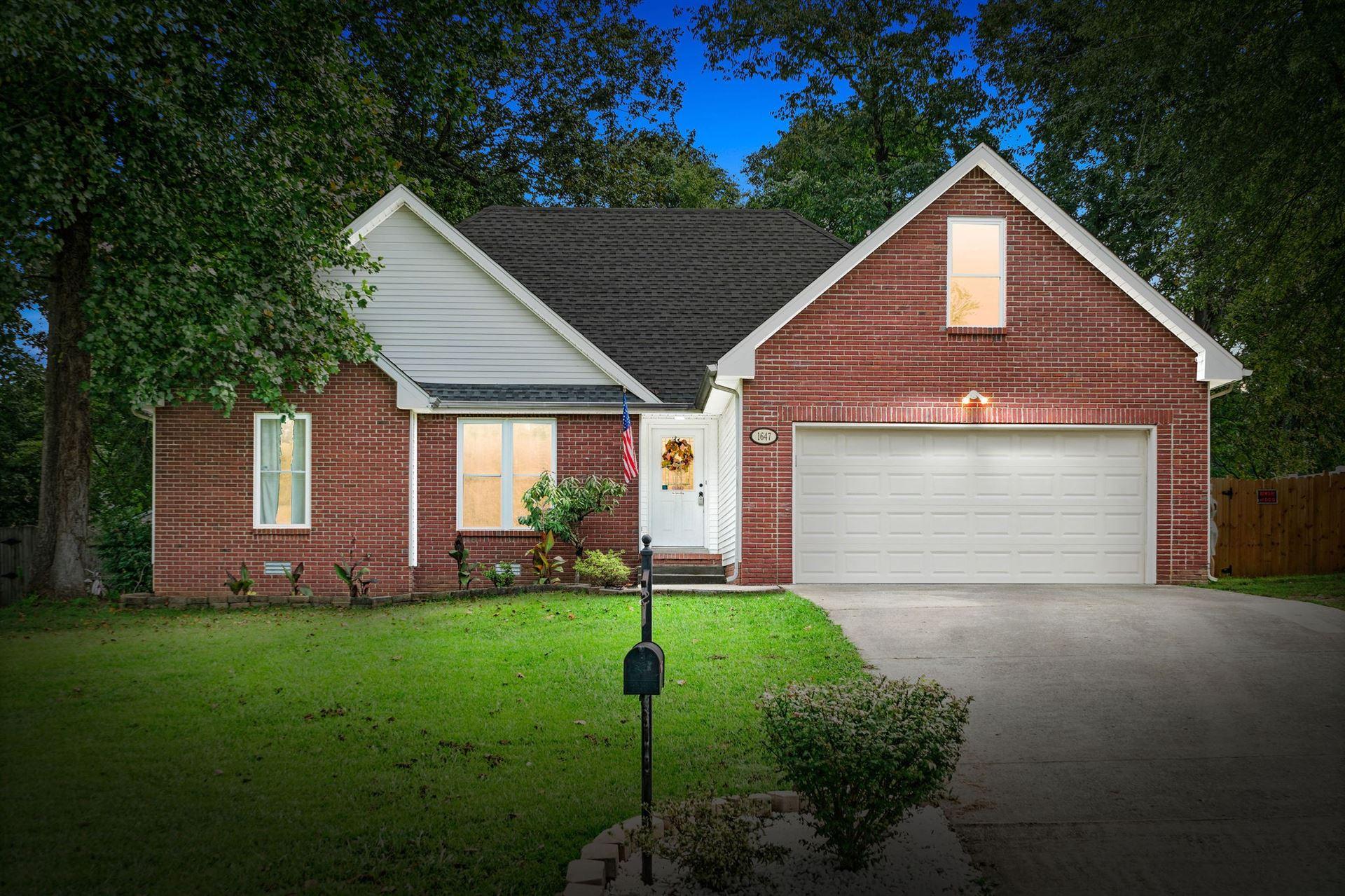 1647 Barrywood Cir E, Clarksville, TN 37042 - MLS#: 2190454