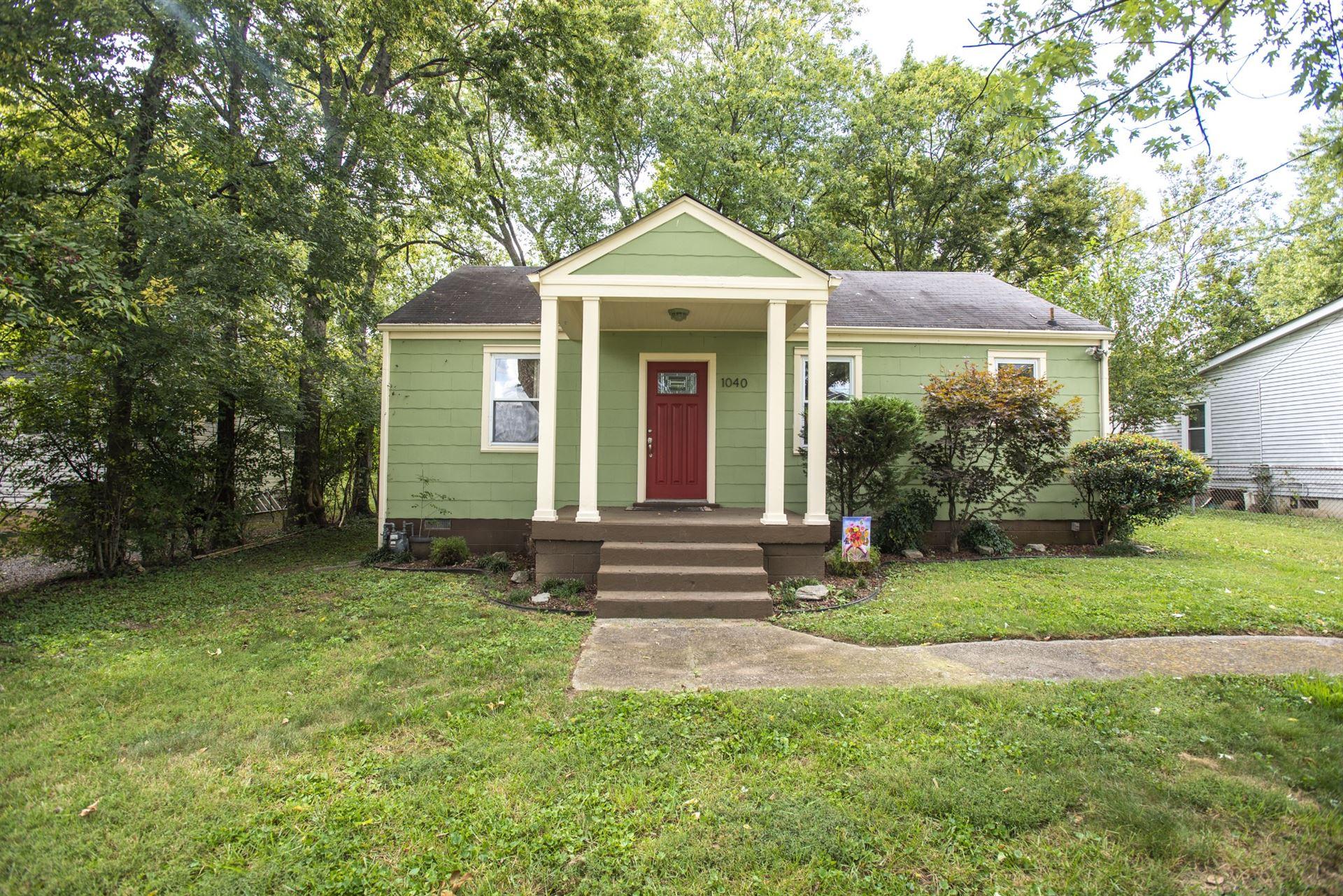 1040 Horseshoe Dr, Nashville, TN 37216 - MLS#: 2194487