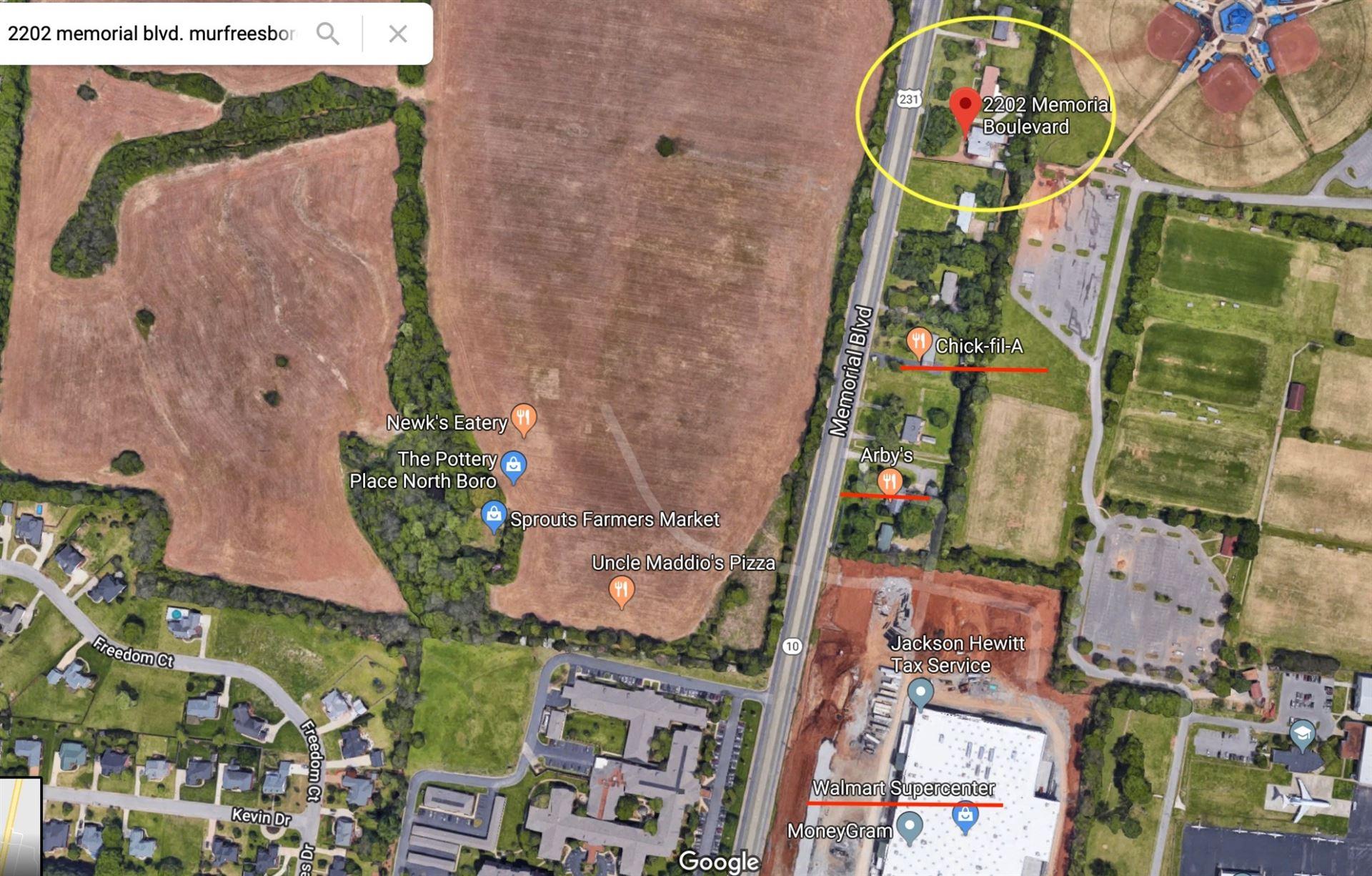 Photo of 2202 Memorial Blvd, Murfreesboro, TN 37129 (MLS # 2243506)