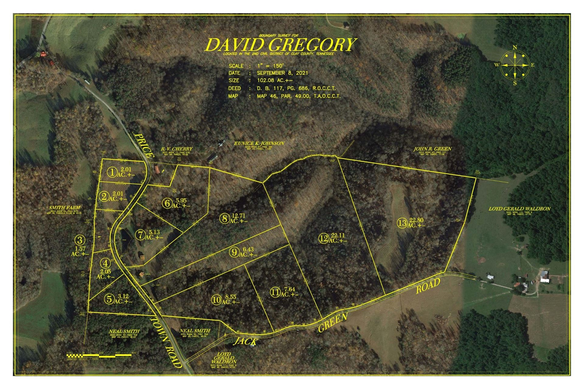 0 Pricetown Rd, Whitleyville, TN 38588 - MLS#: 2290521