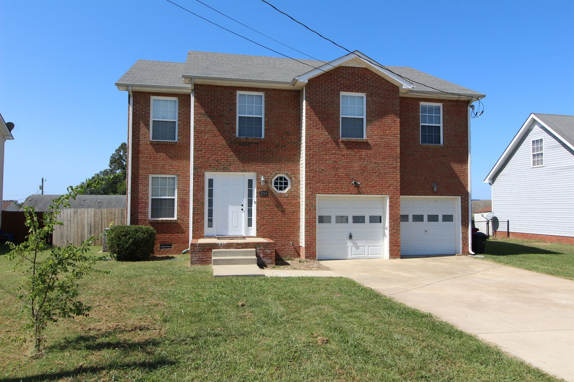 3394 Bradfield Dr, Clarksville, TN 37042 - MLS#: 2182532