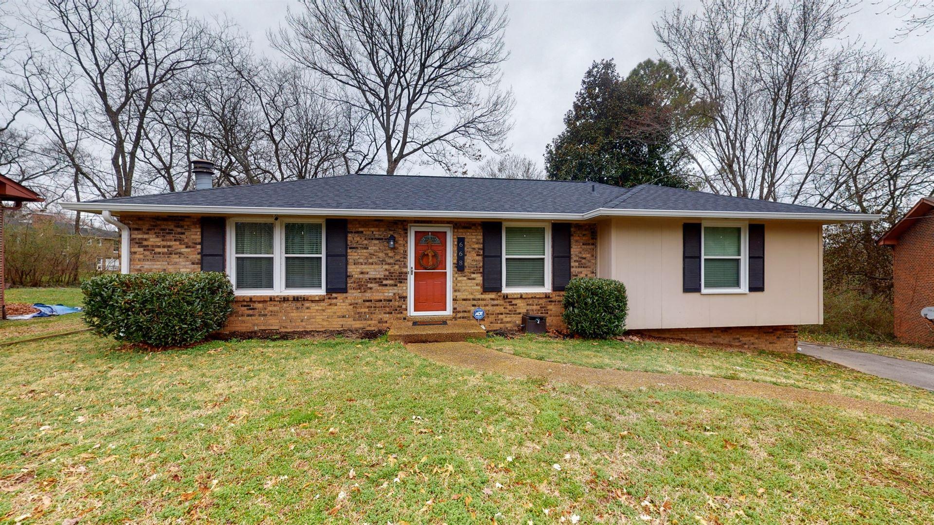 668 Huntington Ridge Dr, Nashville, TN 37211 - MLS#: 2232535