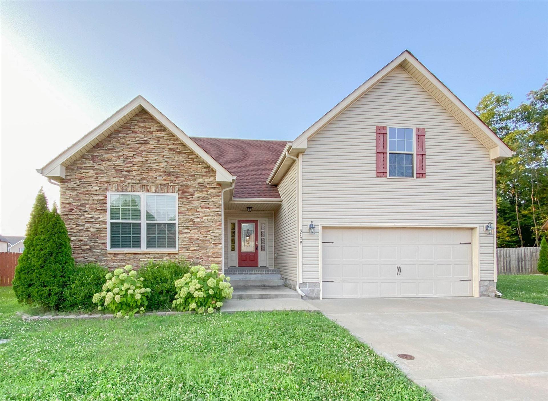 3729 Crisscross Ct, Clarksville, TN 37040 - MLS#: 2275546