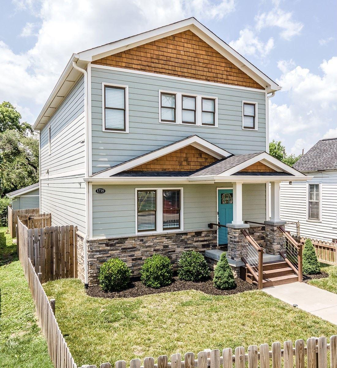 1716 Underwood St, Nashville, TN 37208 - MLS#: 2260572