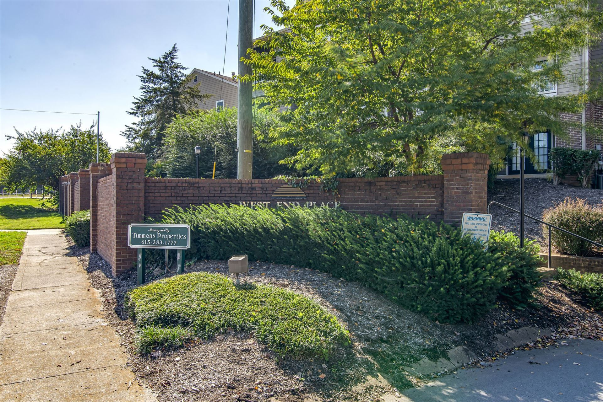103 W End Pl #103, Nashville, TN 37205 - MLS#: 2201575