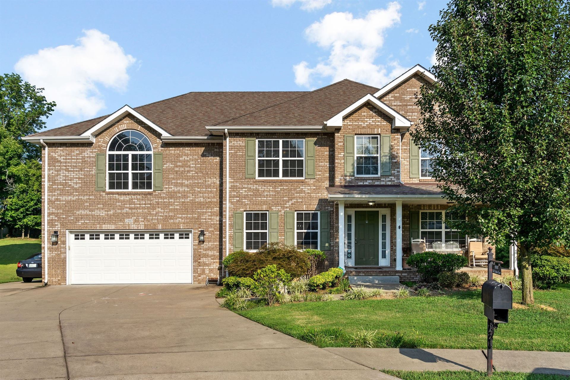 2503 Old Timber Ct, Clarksville, TN 37042 - MLS#: 2286589