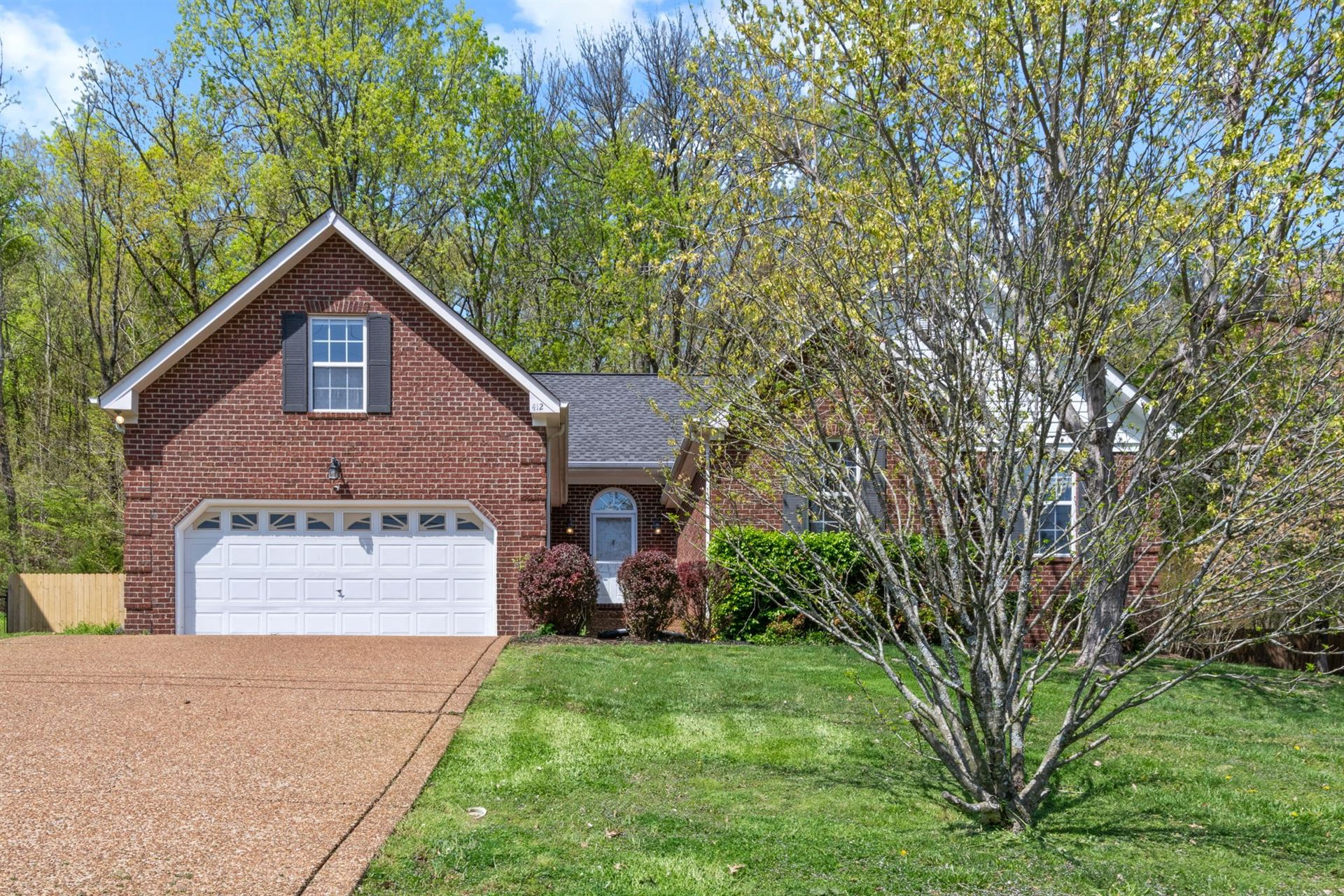 412 Spring Hill Dr, Smyrna, TN 37167 - MLS#: 2243592