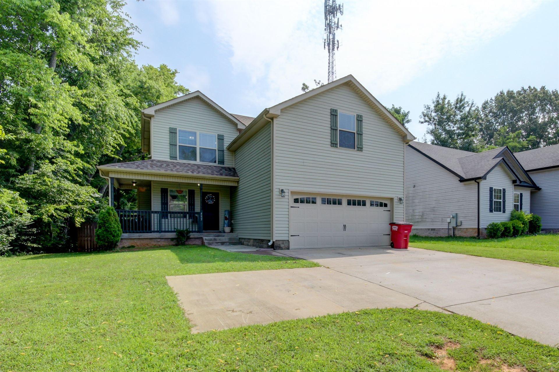 493 Lafayette Rd, Clarksville, TN 37042 - MLS#: 2272597