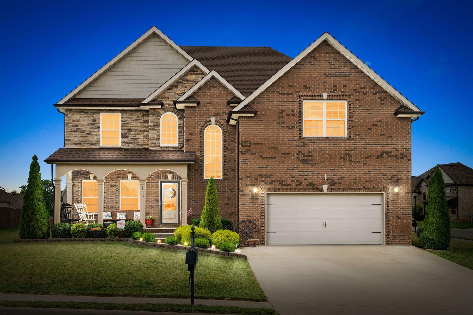 1608 Edgewater Ln, Clarksville, TN 37043 - MLS#: 2268640
