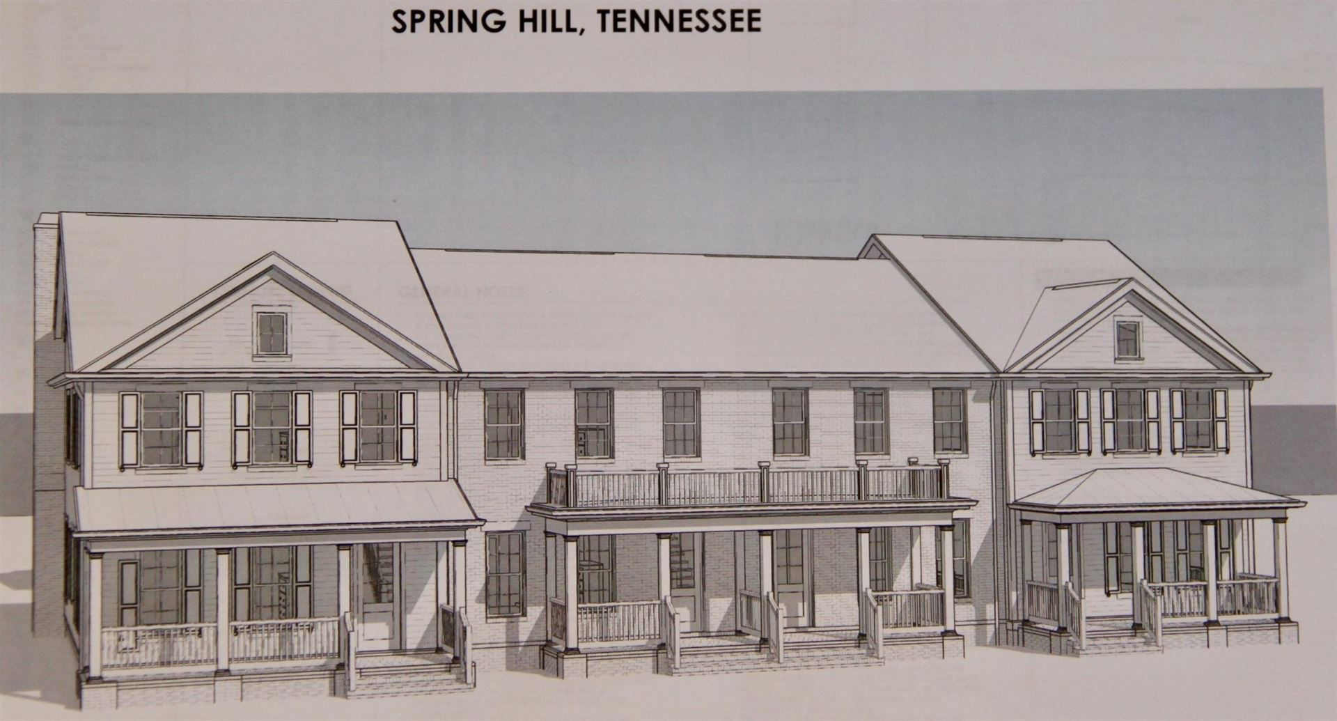 Photo of 984 Carraway Lane, Spring Hill, TN 37174 (MLS # 2215642)