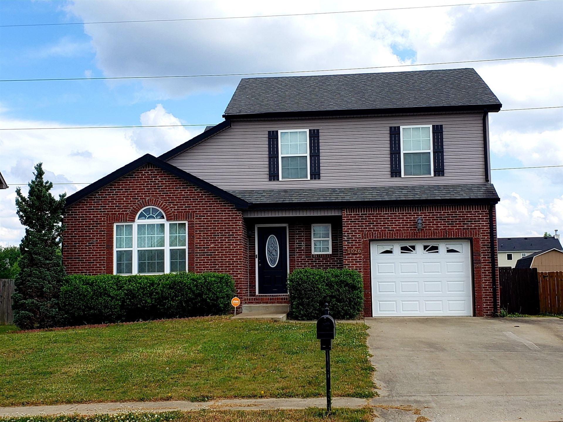 1026 Dwight Eisenhower Way, Clarksville, TN 37042 - MLS#: 2259645