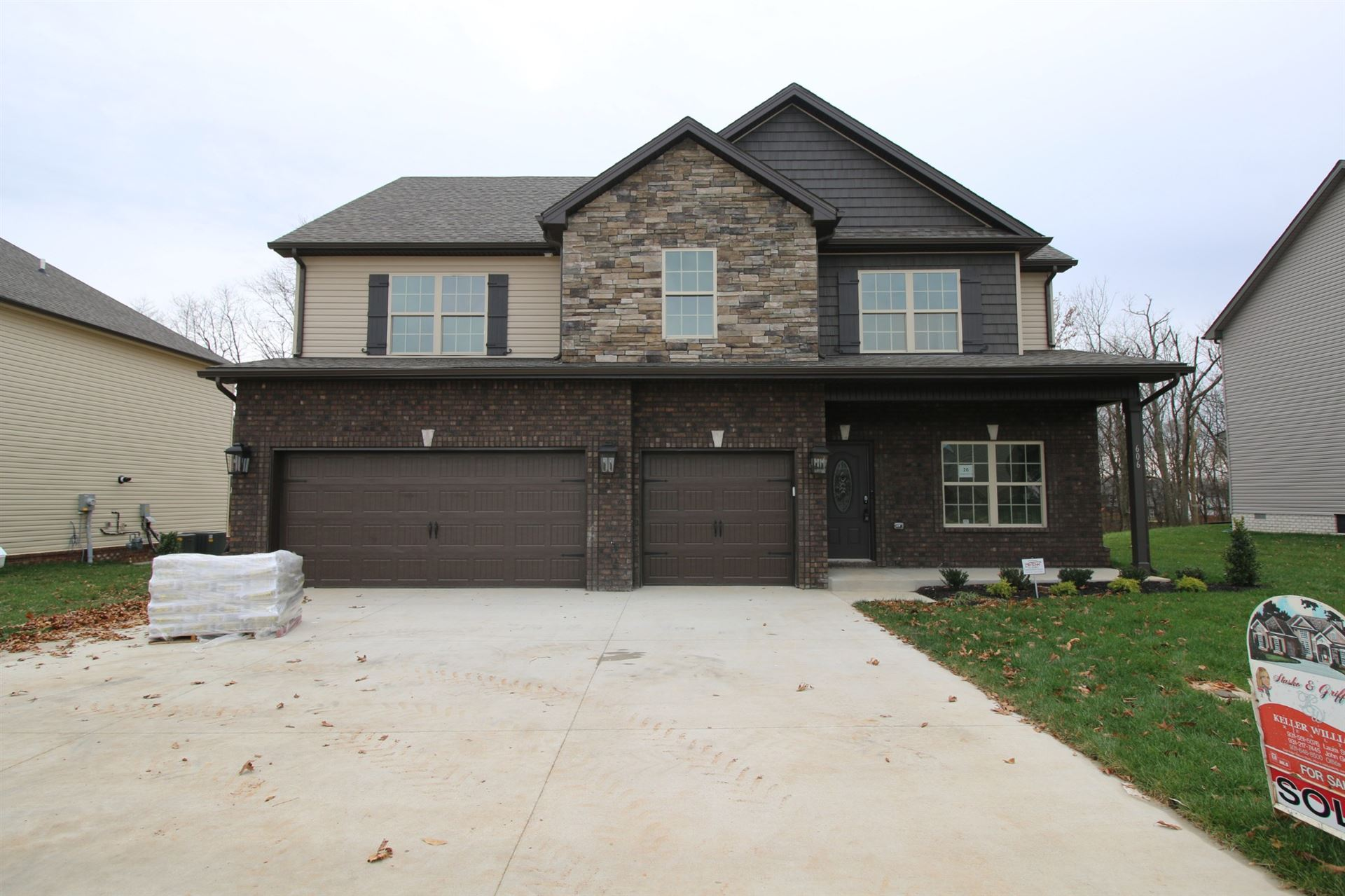 26 Reserve at Hickory Wild, Clarksville, TN 37043 - MLS#: 2178678