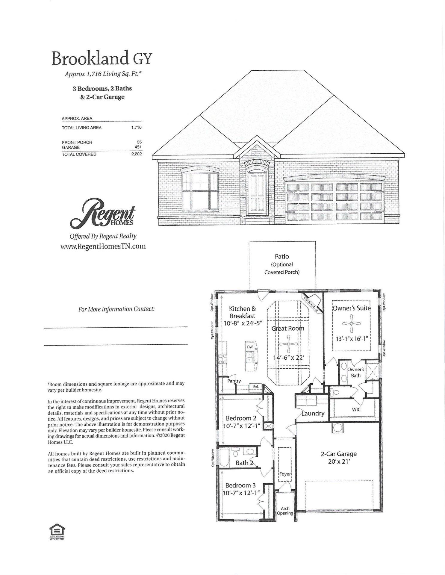 6656 Hanworth Trce, Smyrna, TN 37167 - MLS#: 2201716