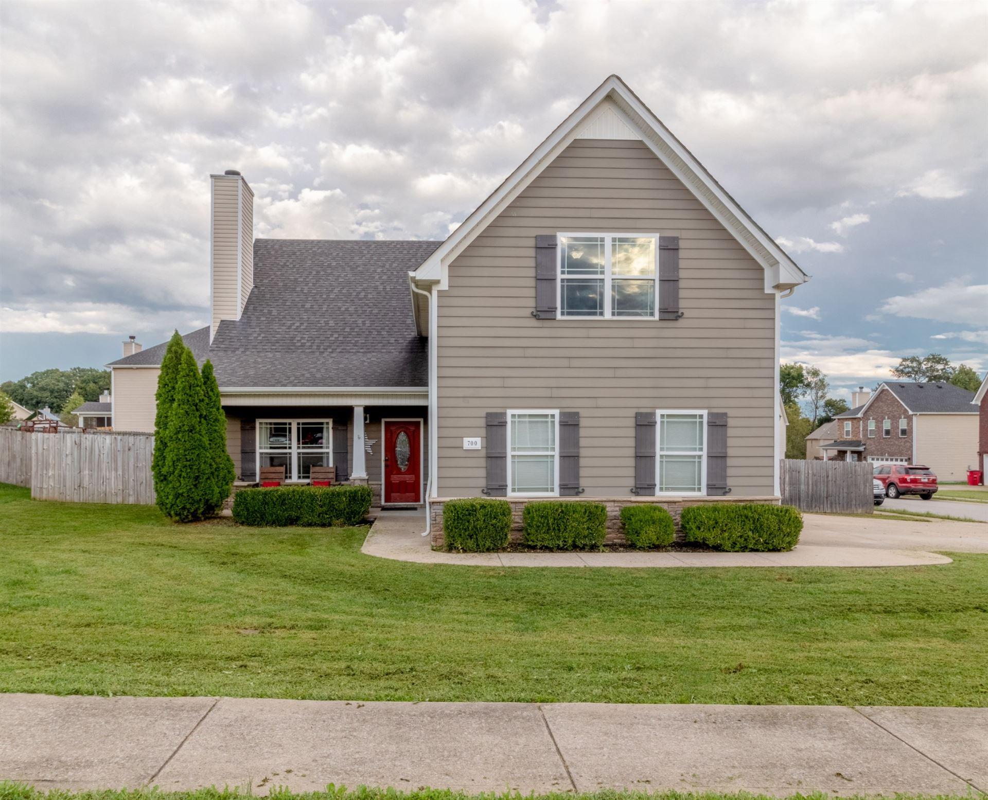 700 Evergreen Ct, Clarksville, TN 37040 - MLS#: 2298720