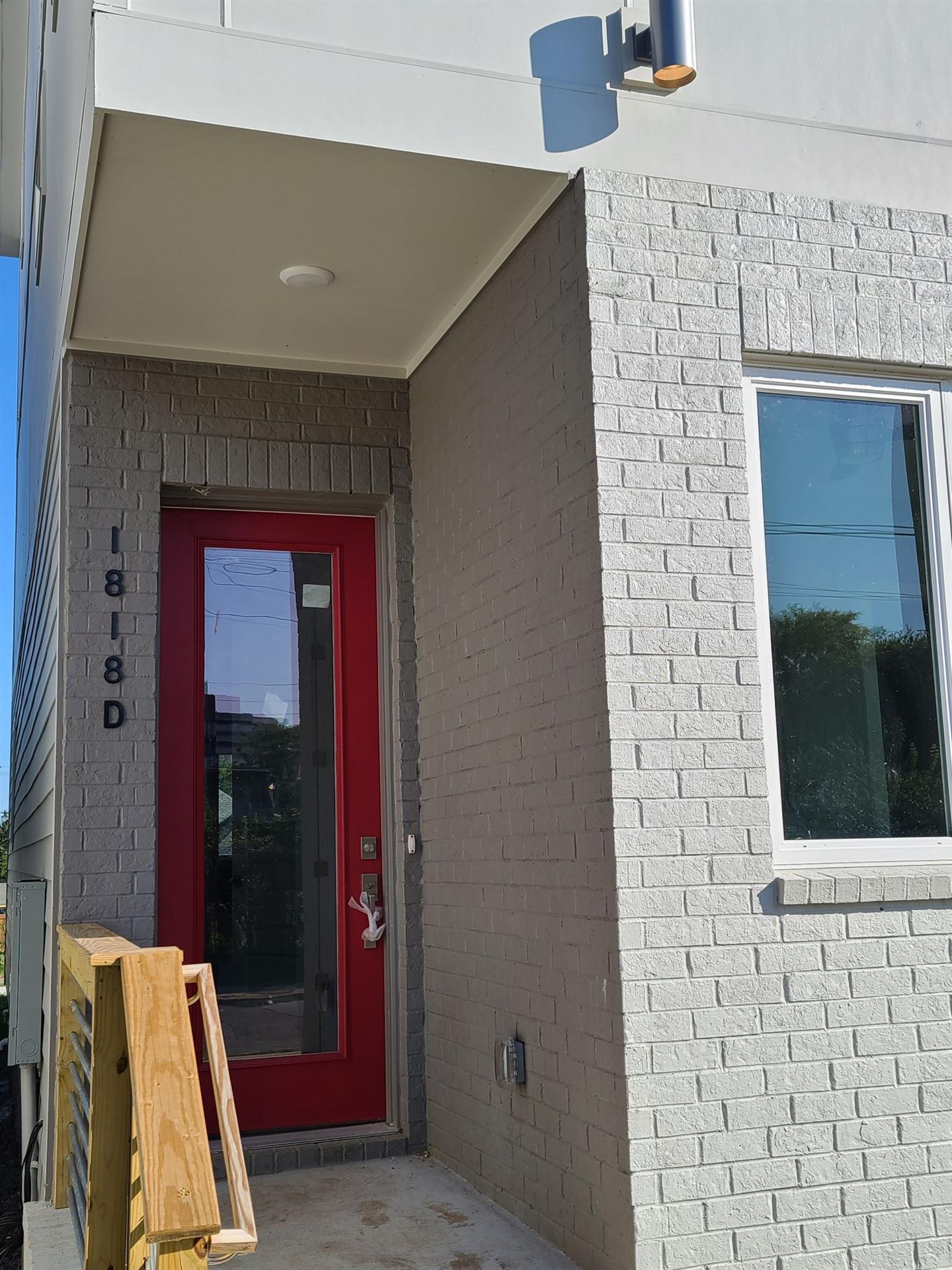 1818 Scovel Street #D, Nashville, TN 37208 - MLS#: 2192722