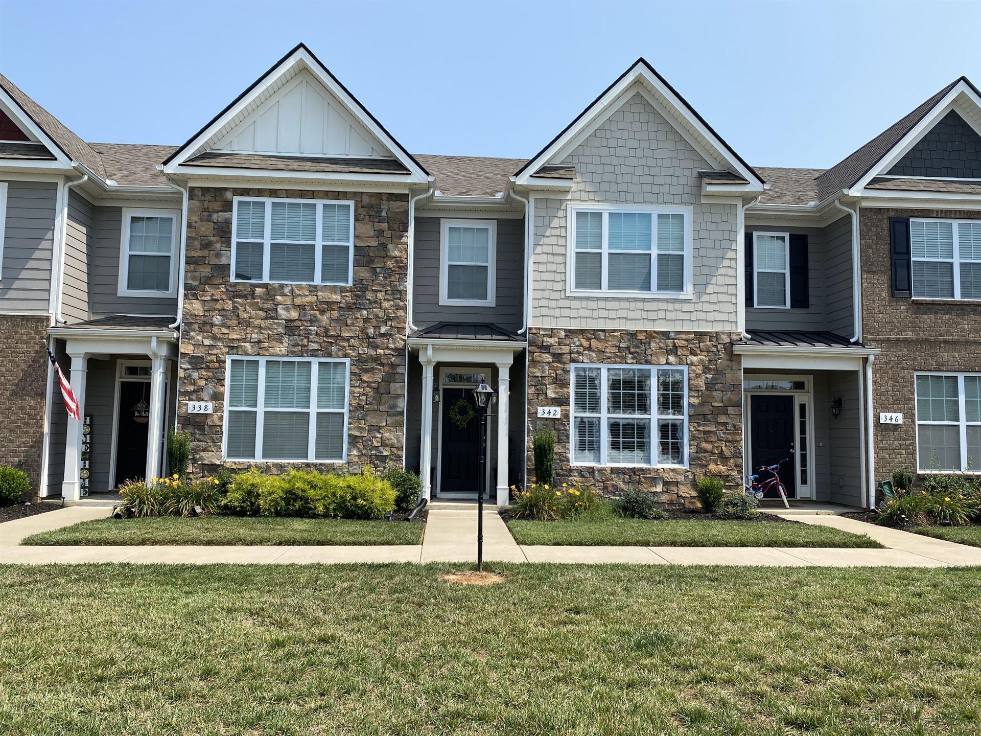 342 Manor Row, Pleasant View, TN 37146 - MLS#: 2276727
