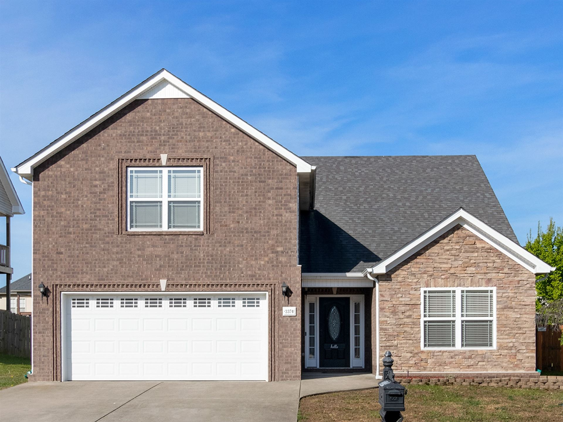 3374 Cotham Ln, Clarksville, TN 37042 - MLS#: 2251779