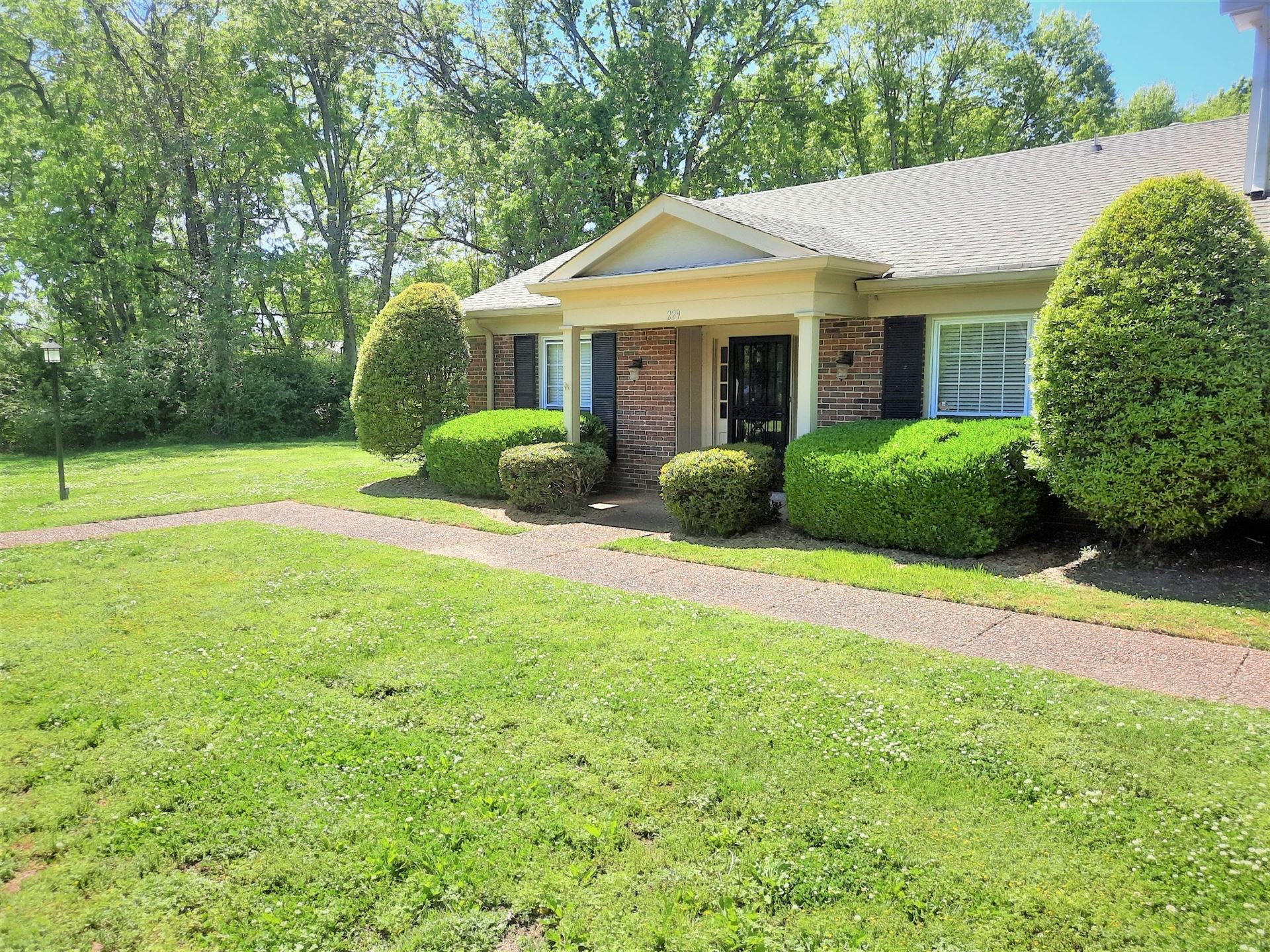 229 Plantation Ct #229, Nashville, TN 37221 - MLS#: 2249840