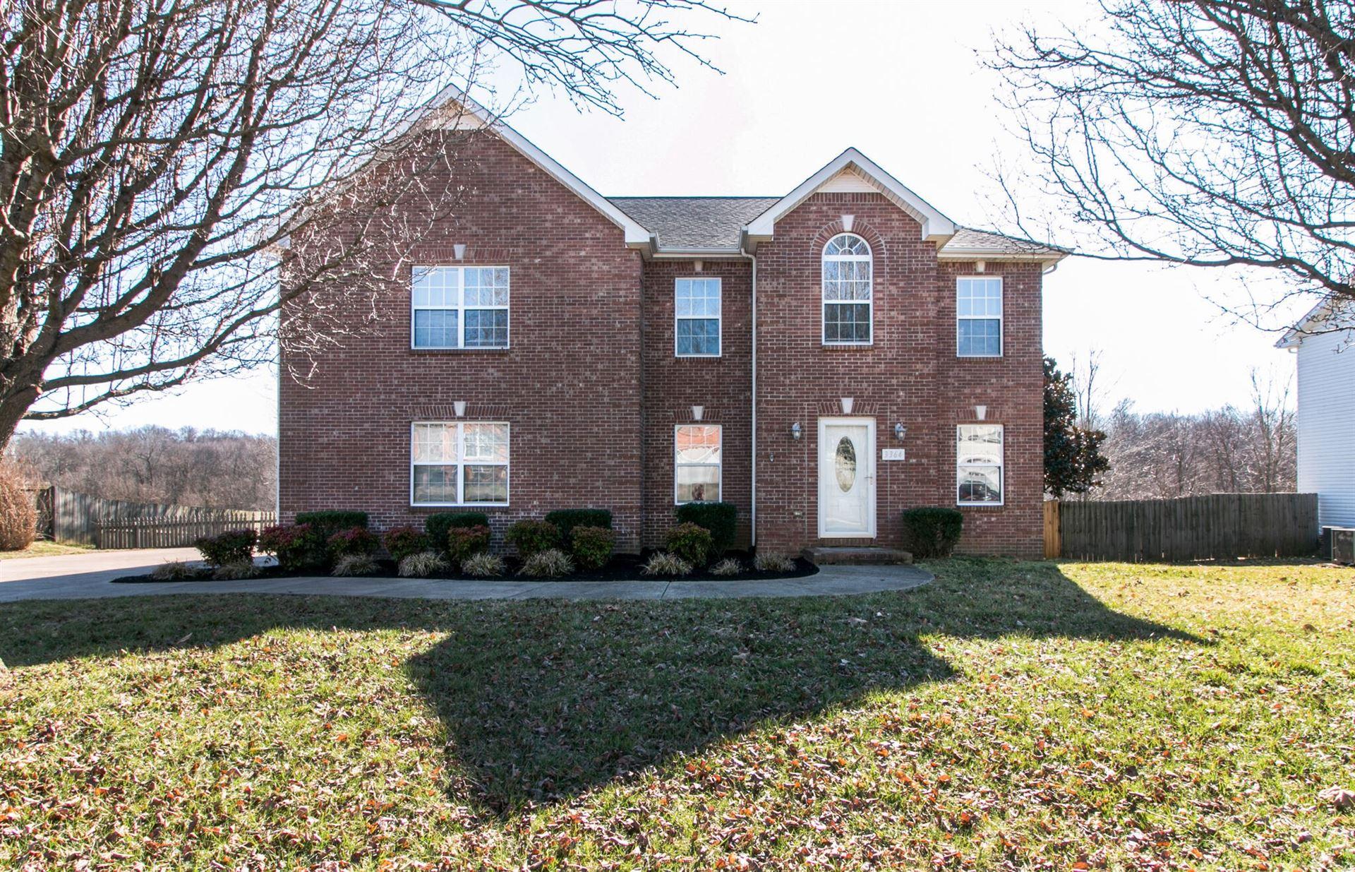 3364 Heatherwood Trce, Clarksville, TN 37040 - MLS#: 2235841