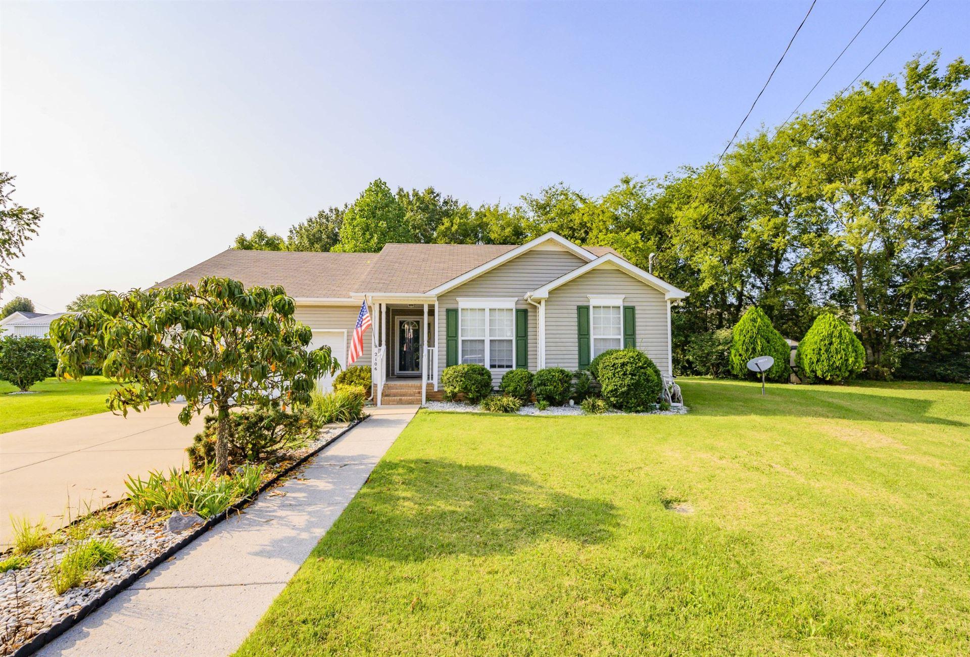 2106 Golfield Ct, Murfreesboro, TN 37127 - MLS#: 2187848